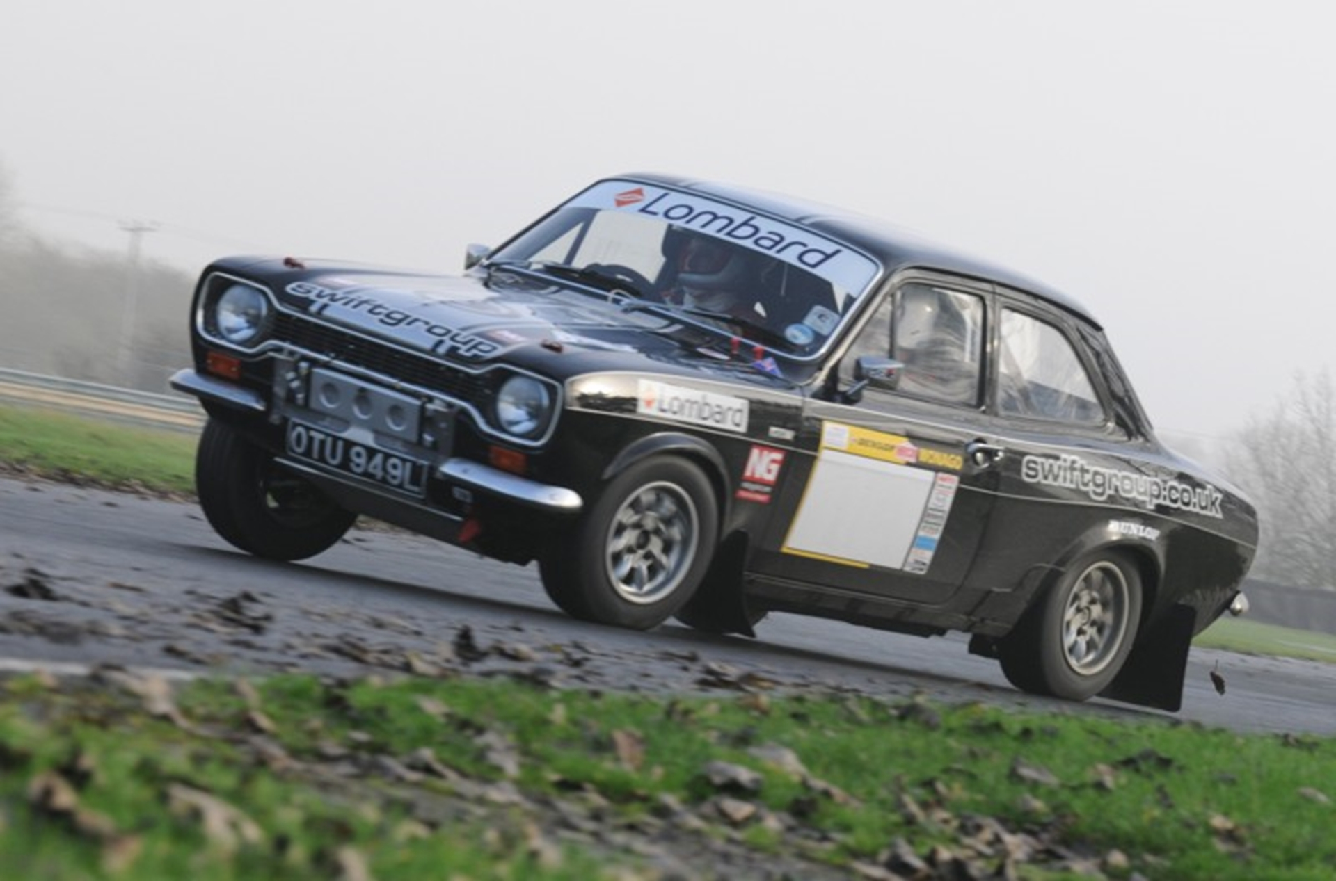 Charlie Taylor Ford Escort MKII