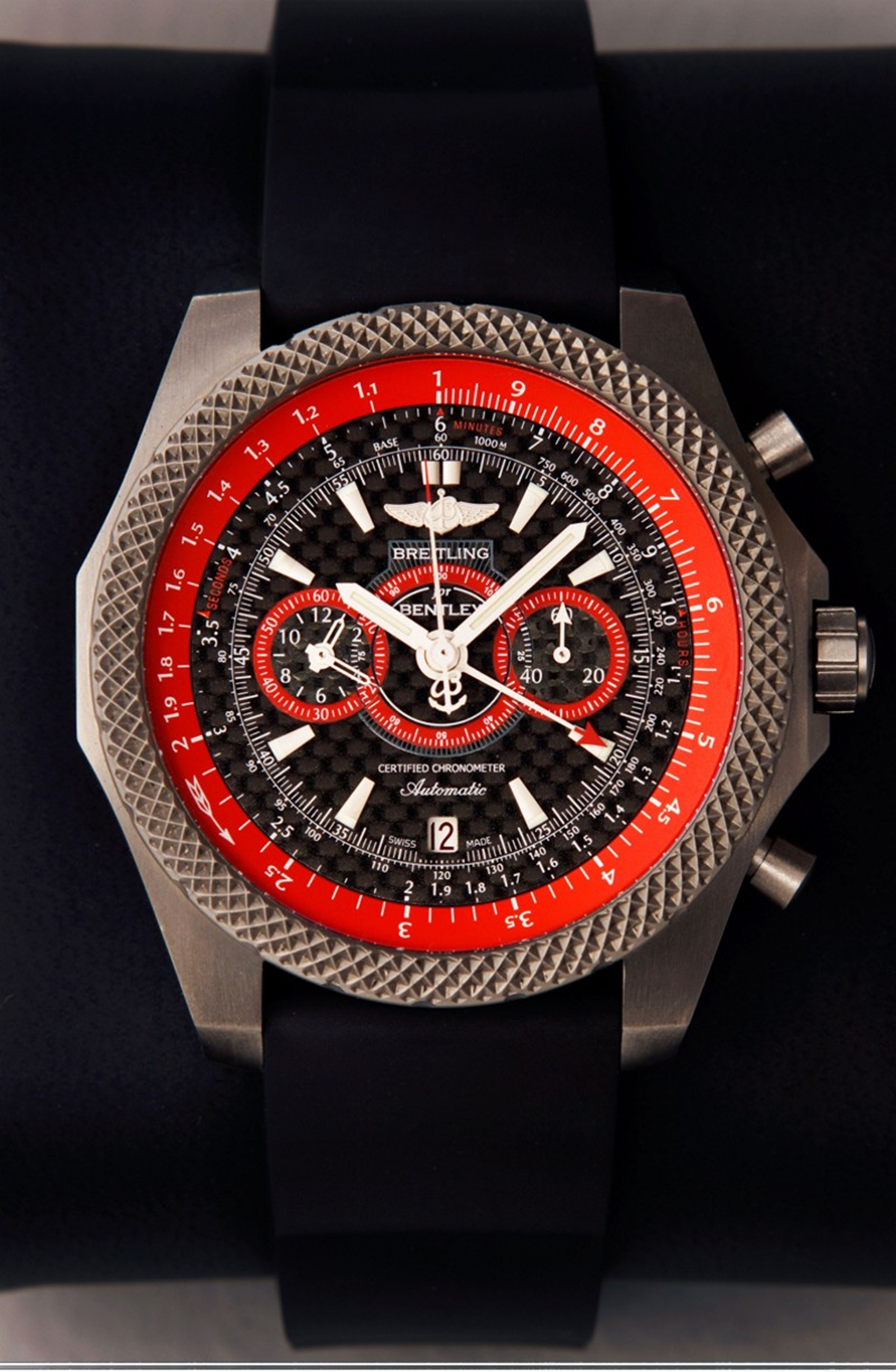 Breitling for Bentley: cool and chic - the ice-speed record watch