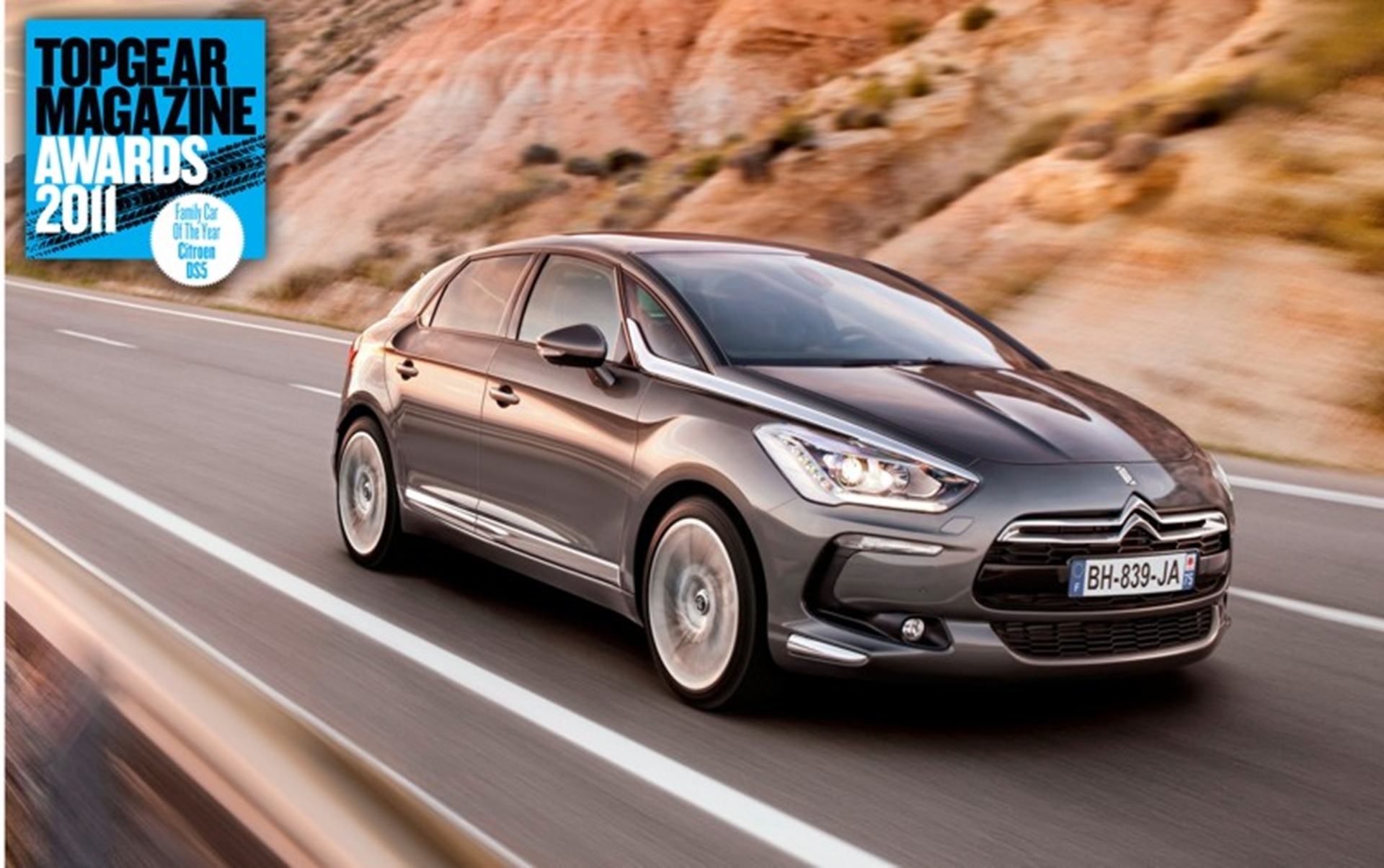 New Citroën DS5 is Top Gear Magazines Family Car of the Year