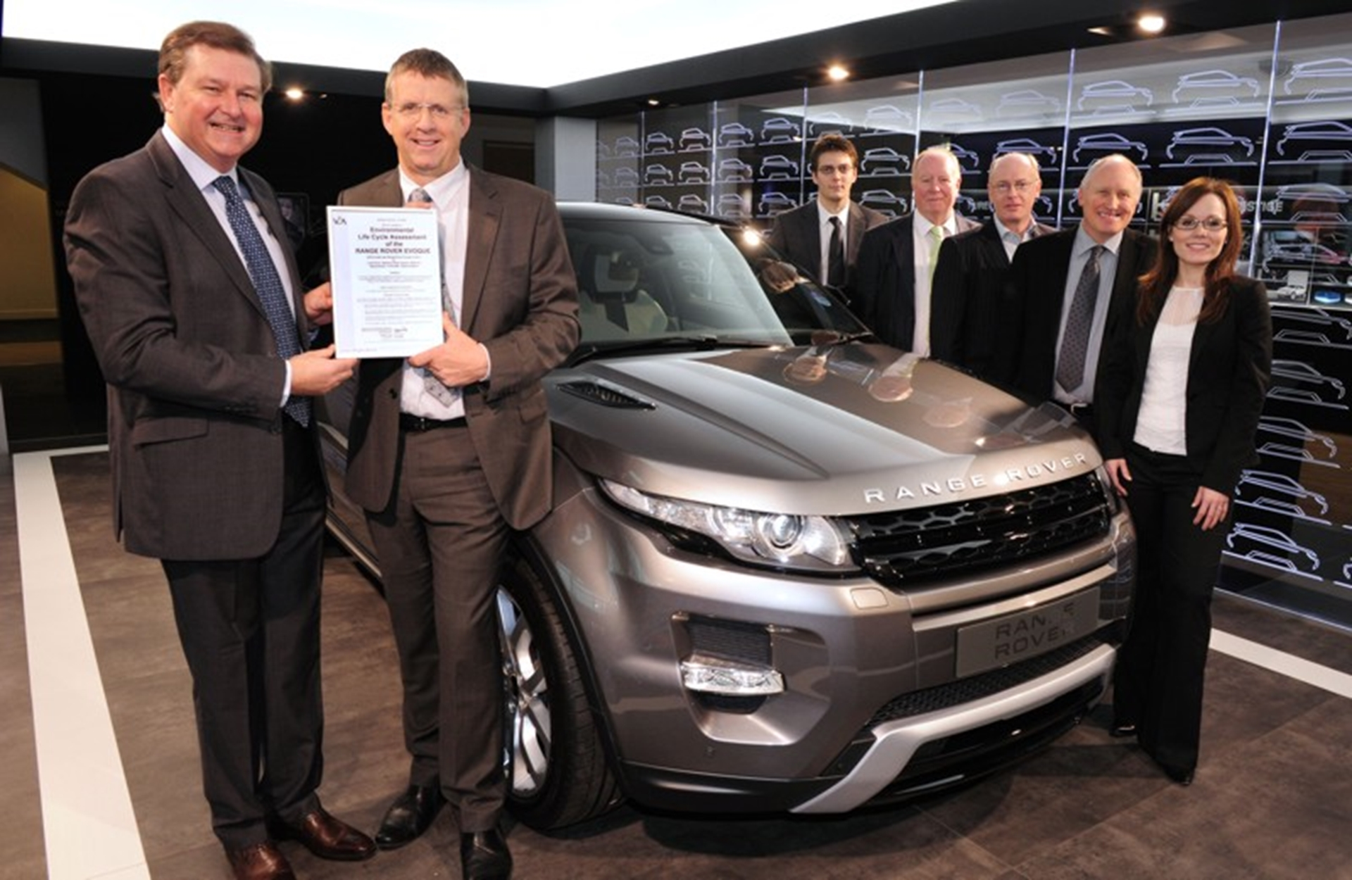 Range Rover Evoque Receives VCA Certification