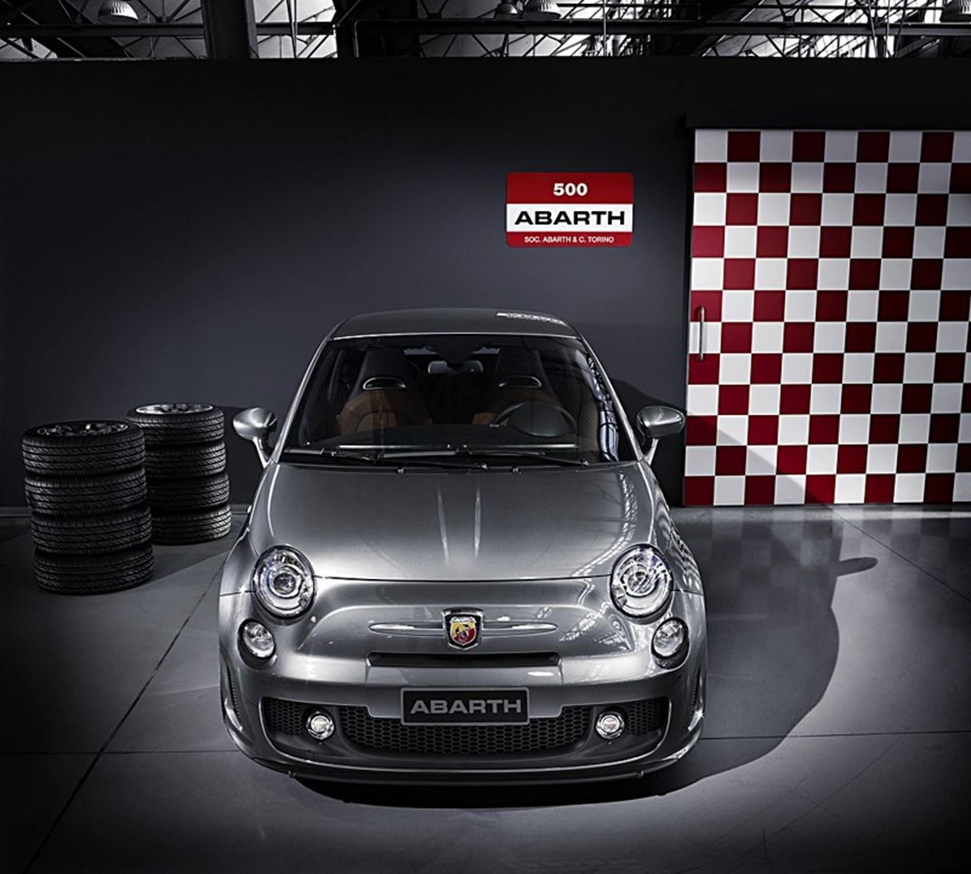 Abarth 500 2011 Full View