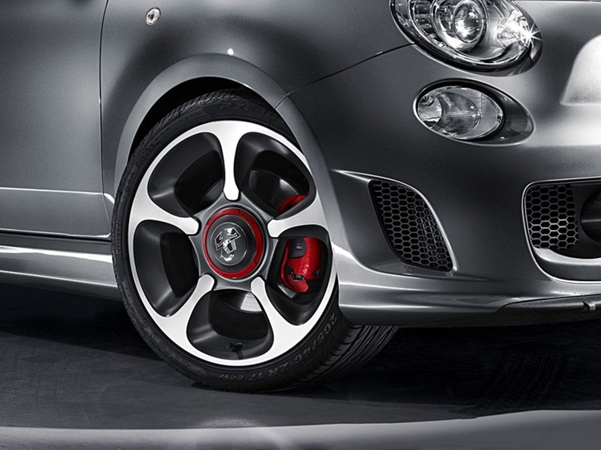 Abarth 500 wheel
