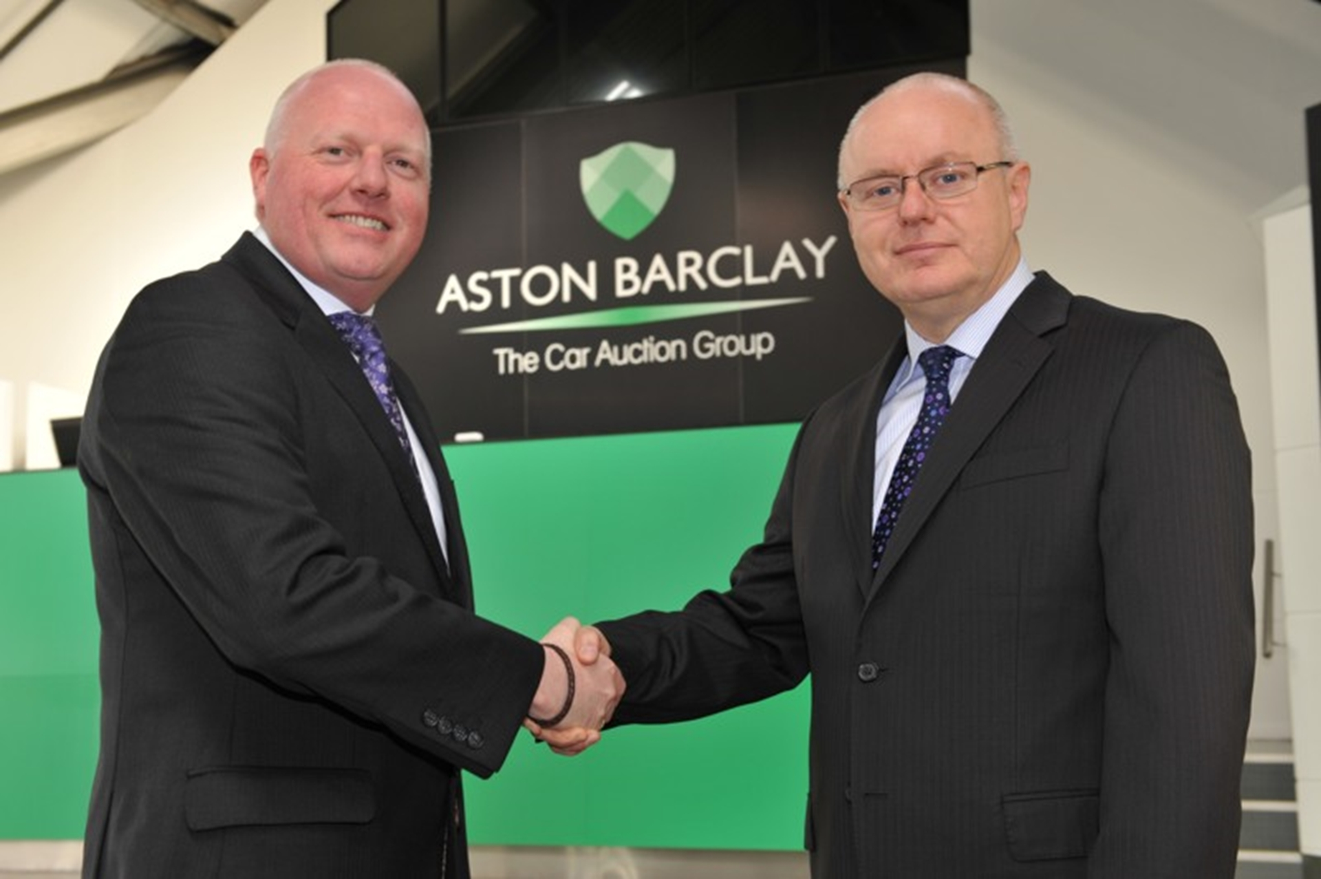 Aston Barclay Managing Director Tim Hudson welcomes Martin Potter