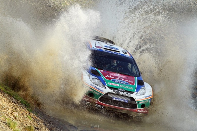Ford Sets New Record With Fiesta Flourish In Rally Gb