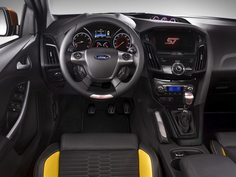 Ford Focus ST Instruments