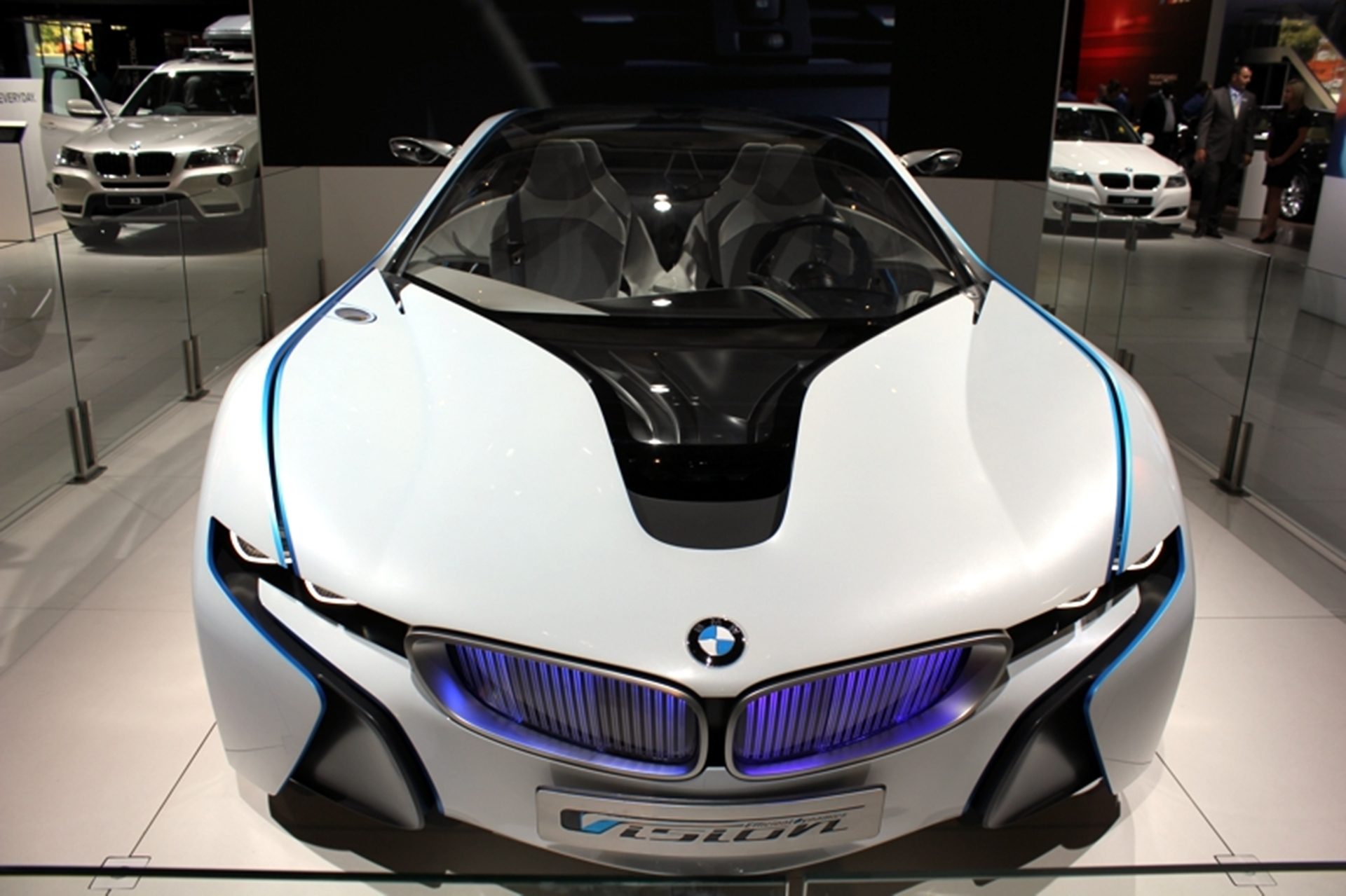 Front View of the BMW I Concept Car
