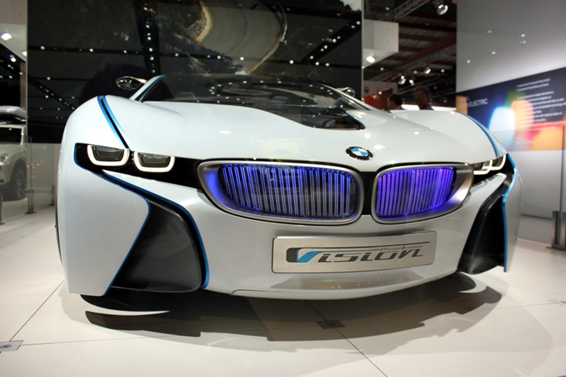 BMW I Concept Car Front View