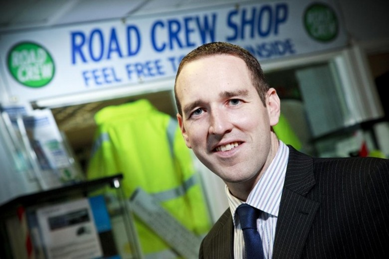 JAMES CHARNOCK JOINS ROADCREW AS MANAGING DIRECTOR