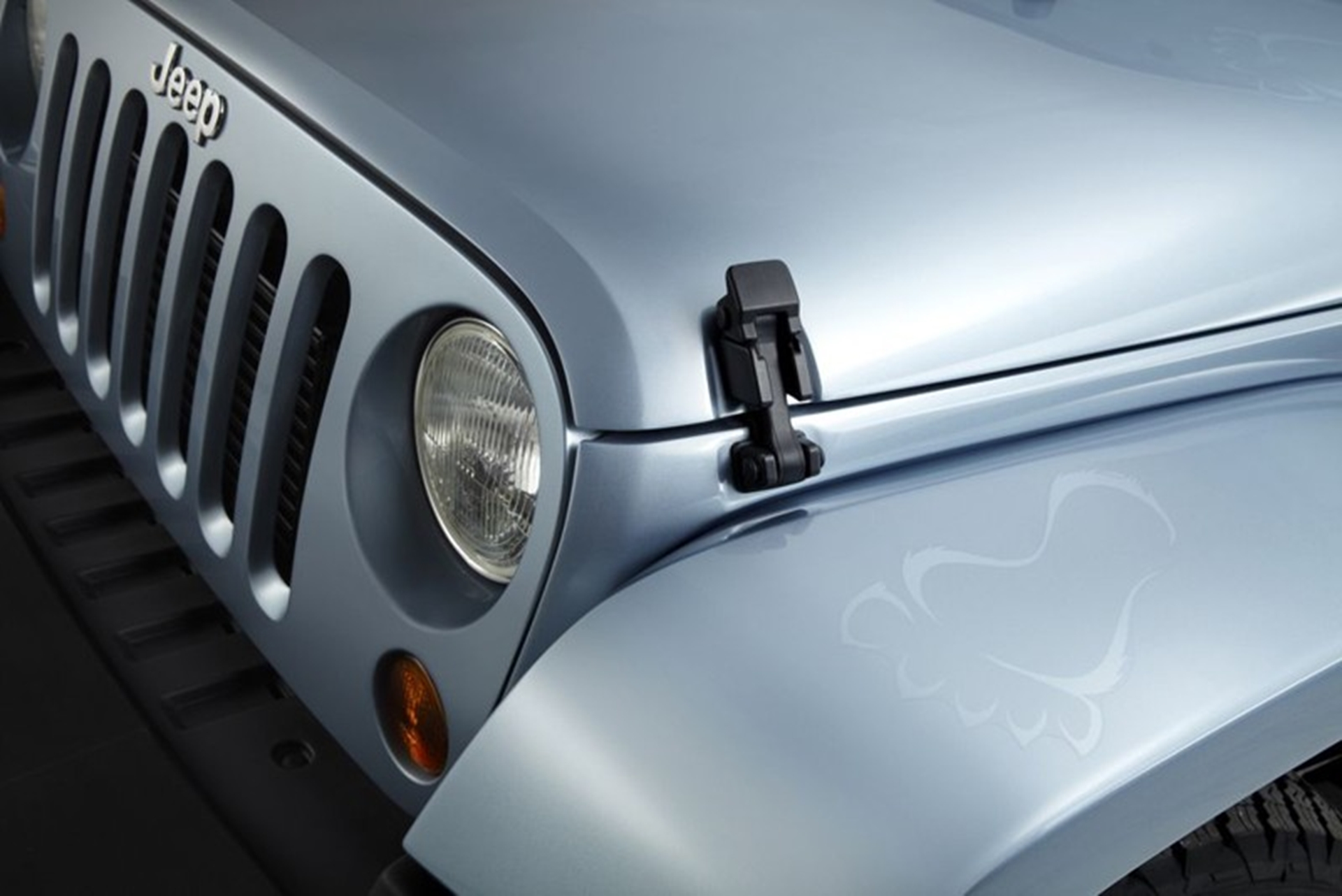 Jeep Wrangler 2012 front
