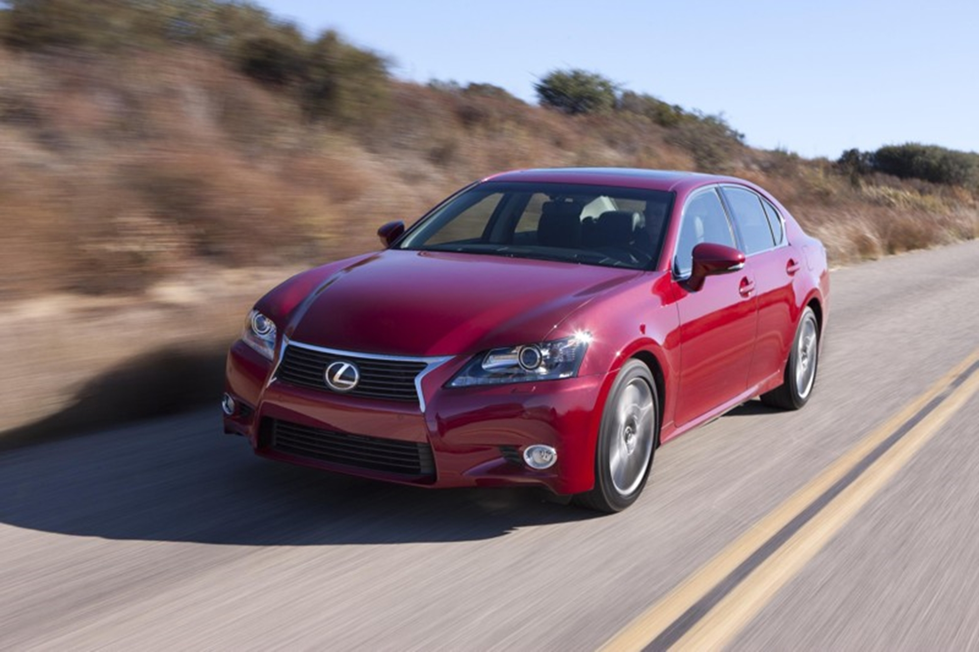 Lexus GS 250 Red