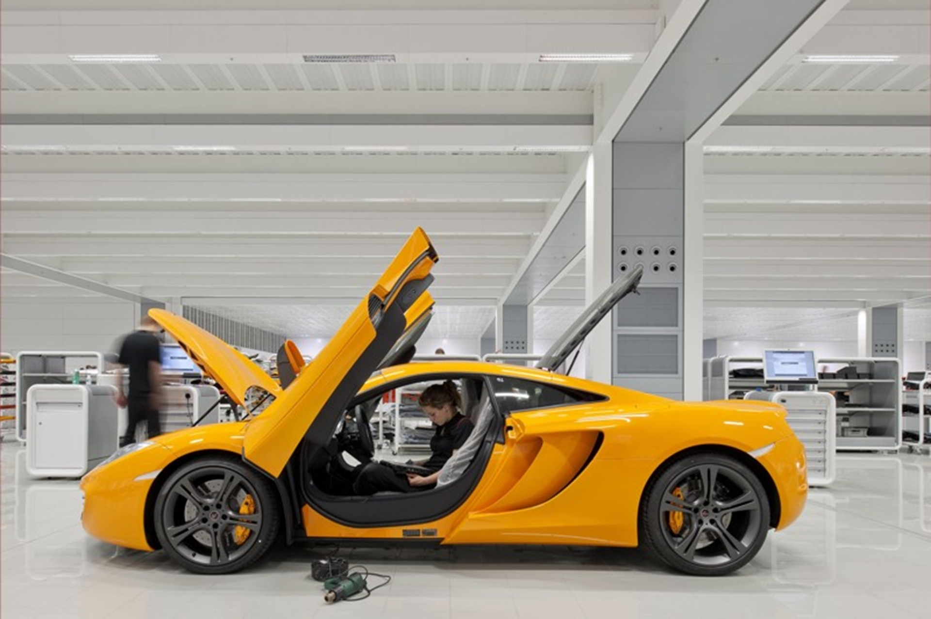 McLaren Production Centre 2011