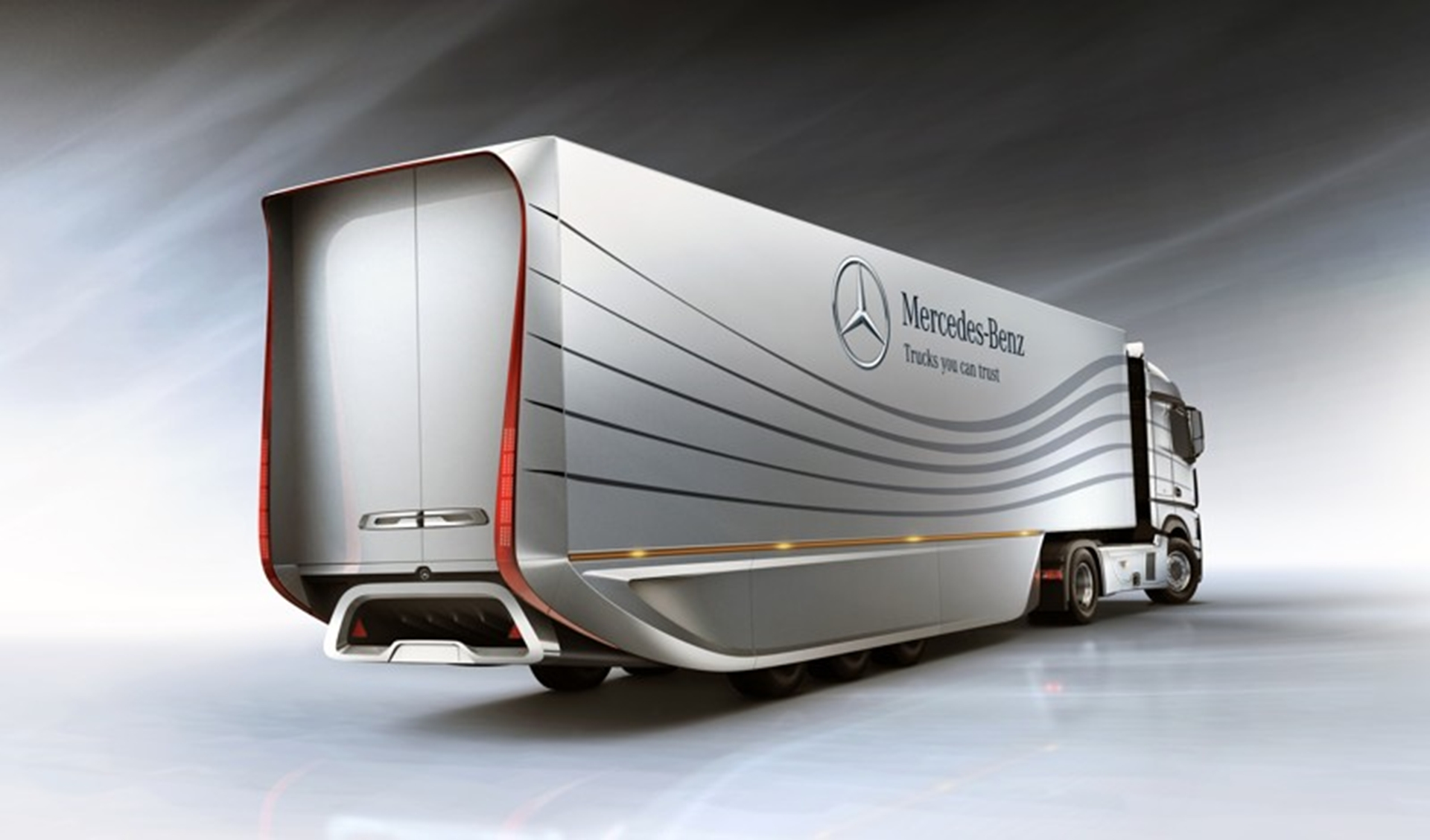 Mercedes-Benz Aero trailer Rear