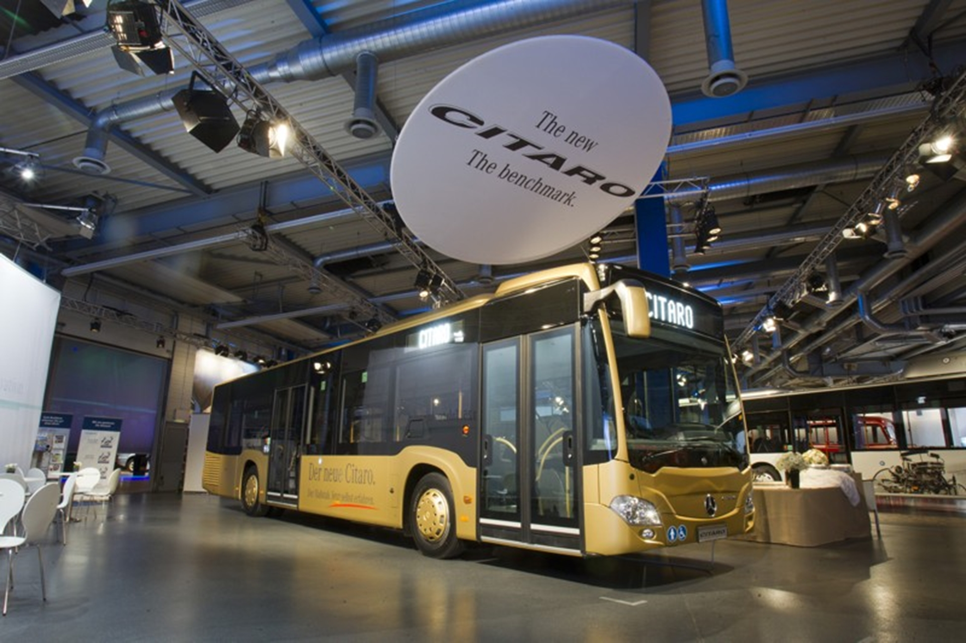 Mercedes-Benz Bus Show 2011