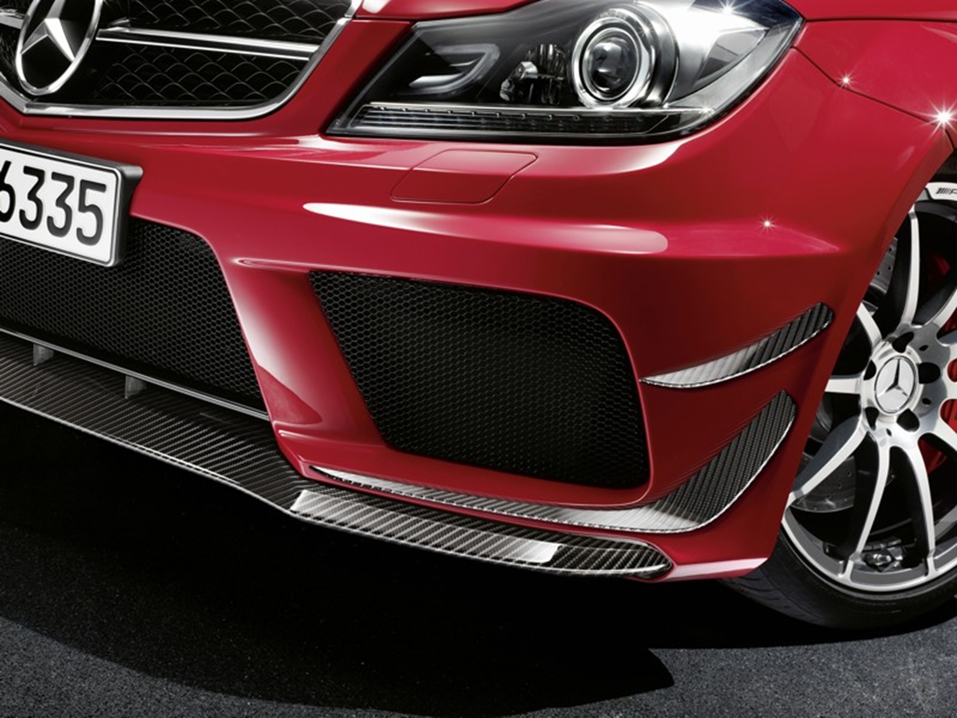 C 63 AMG Black Series Grill