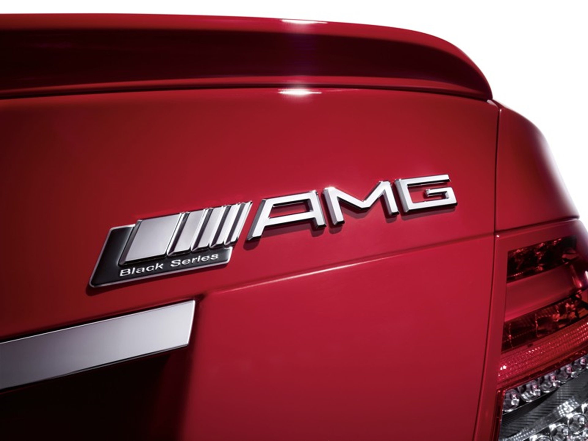 C 63 AMG Black Series 2011 AMG Logo