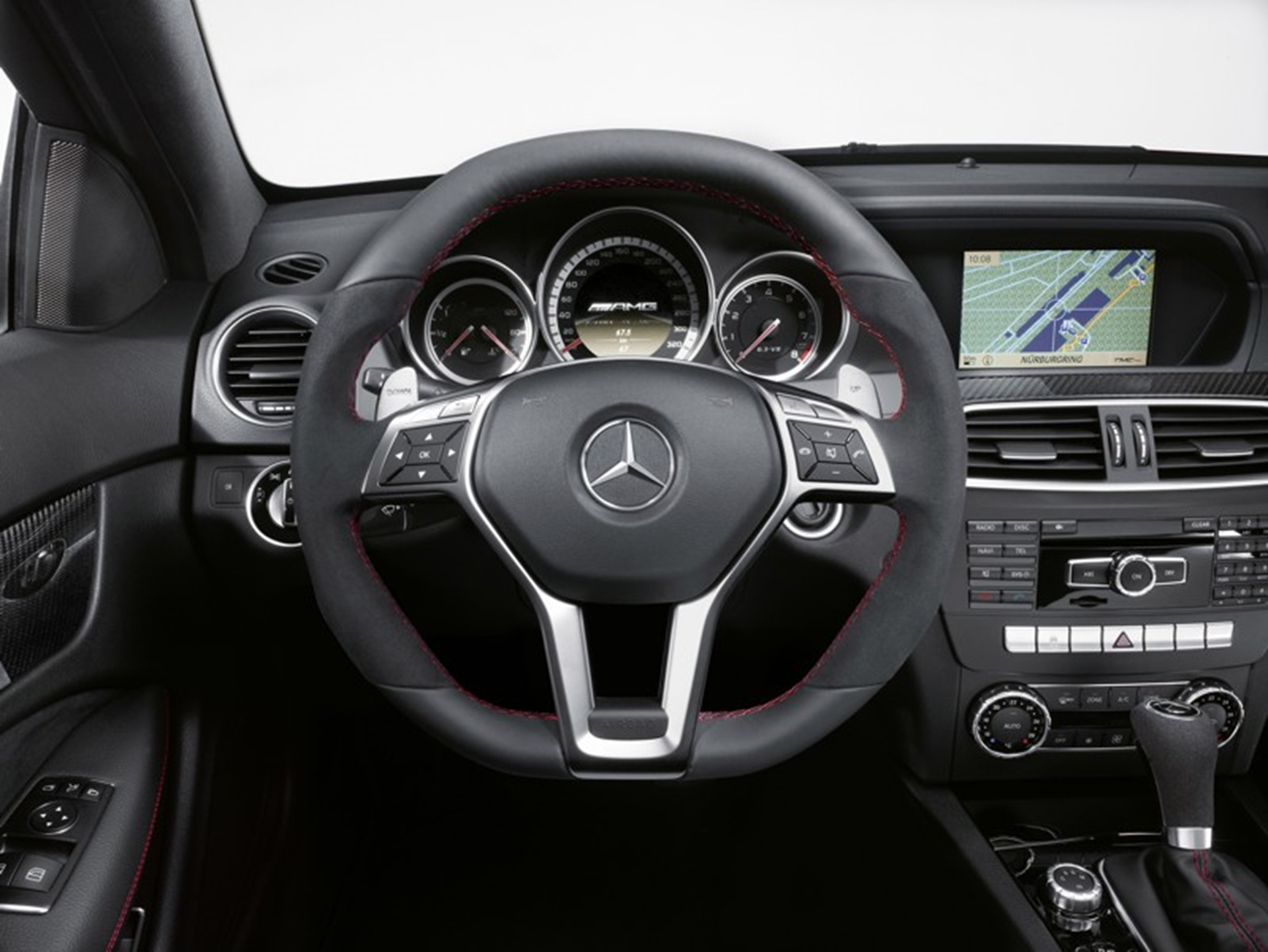 C 63 AMG Black Series 2011 Steering