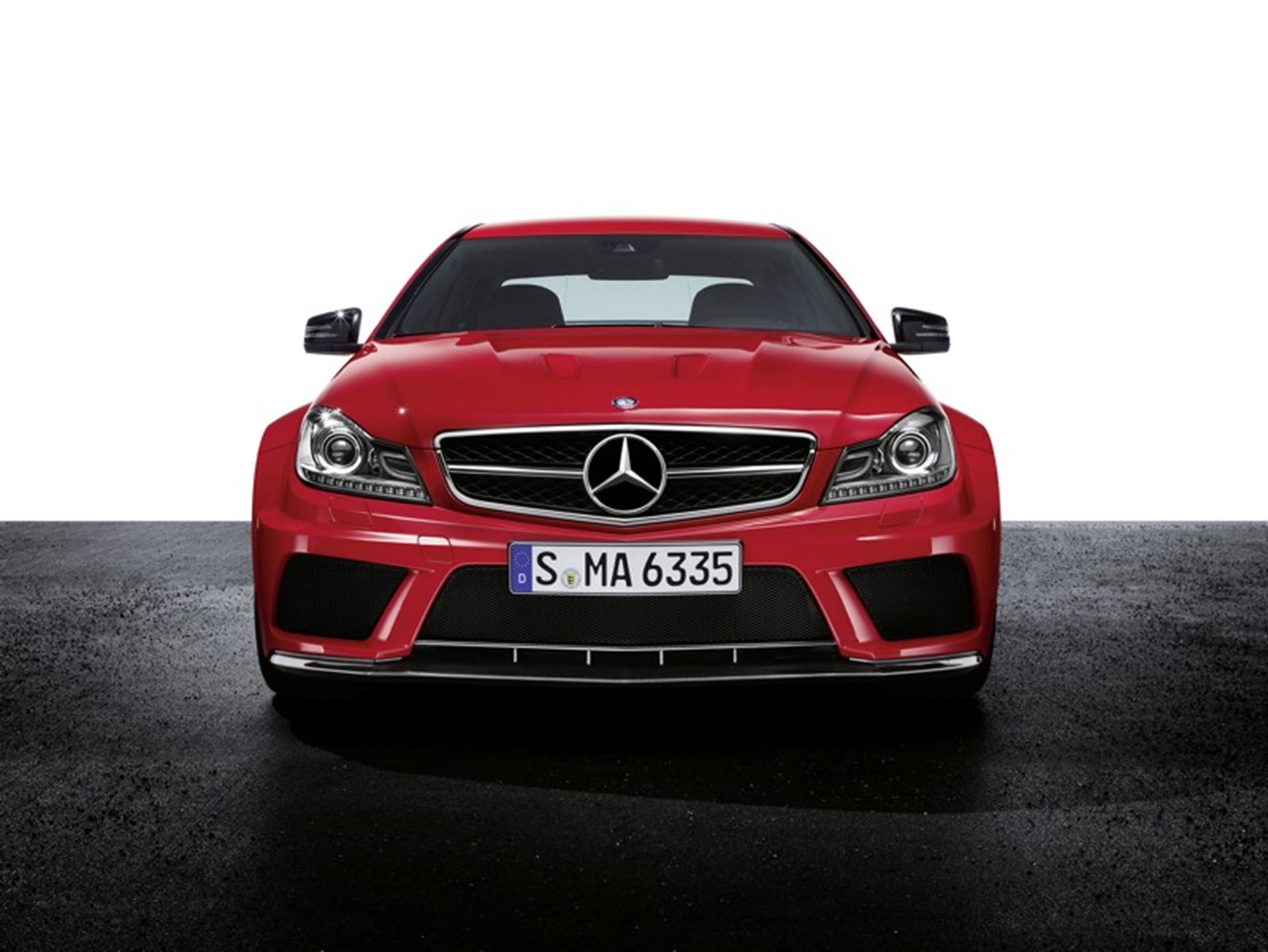 AMG Black Series Front