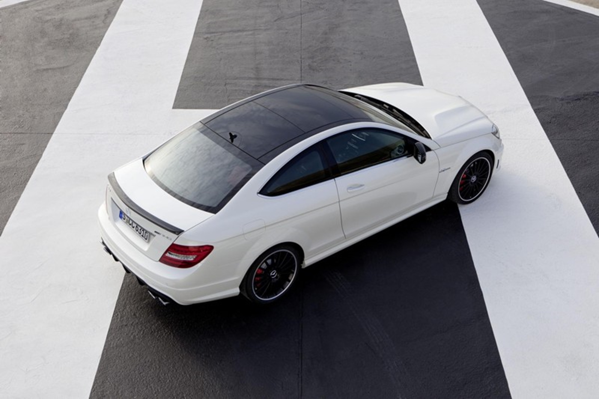 C 63 AMG Coupe Mercedes Benz Top