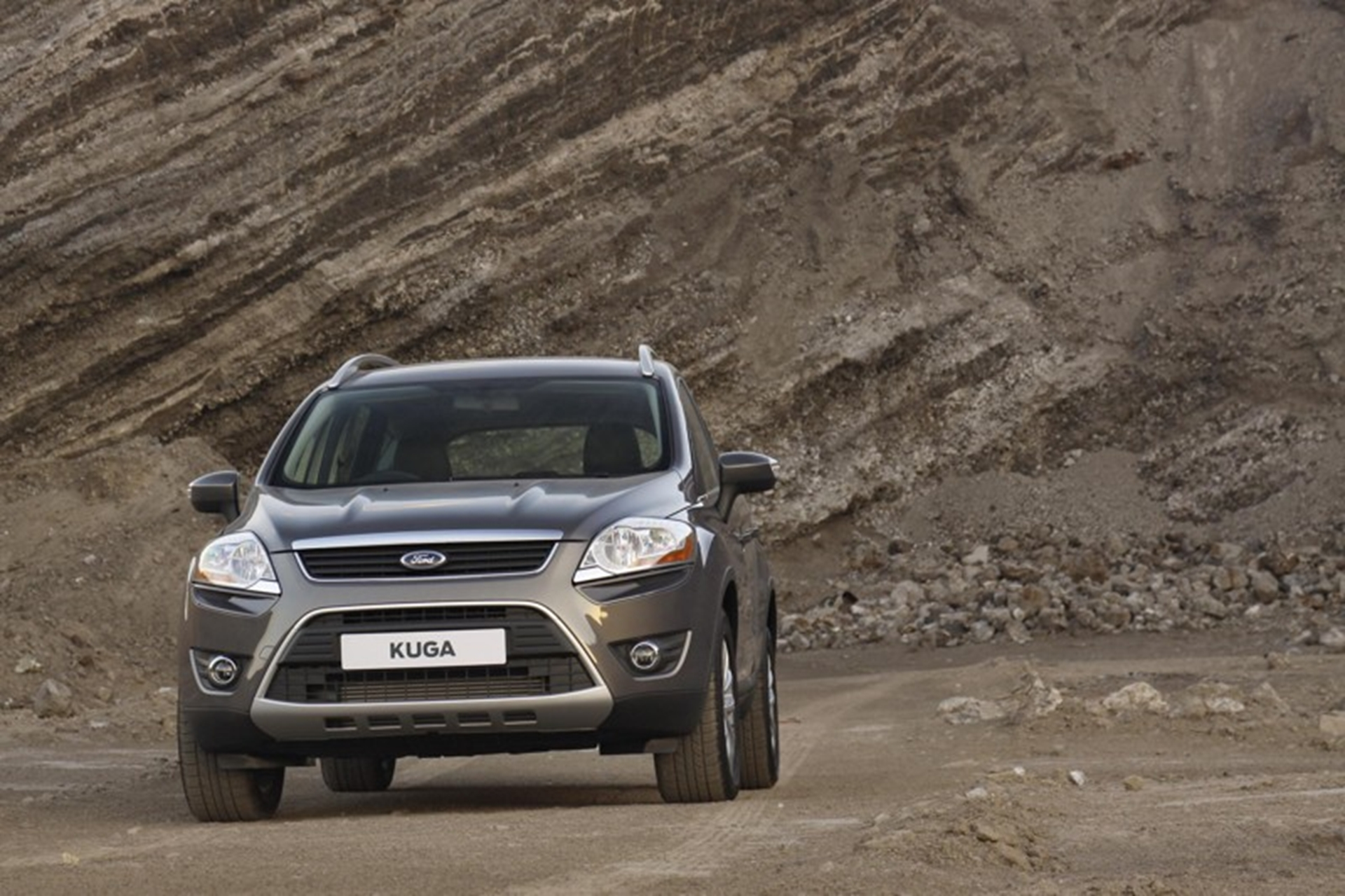 New Ford Kuga Front View