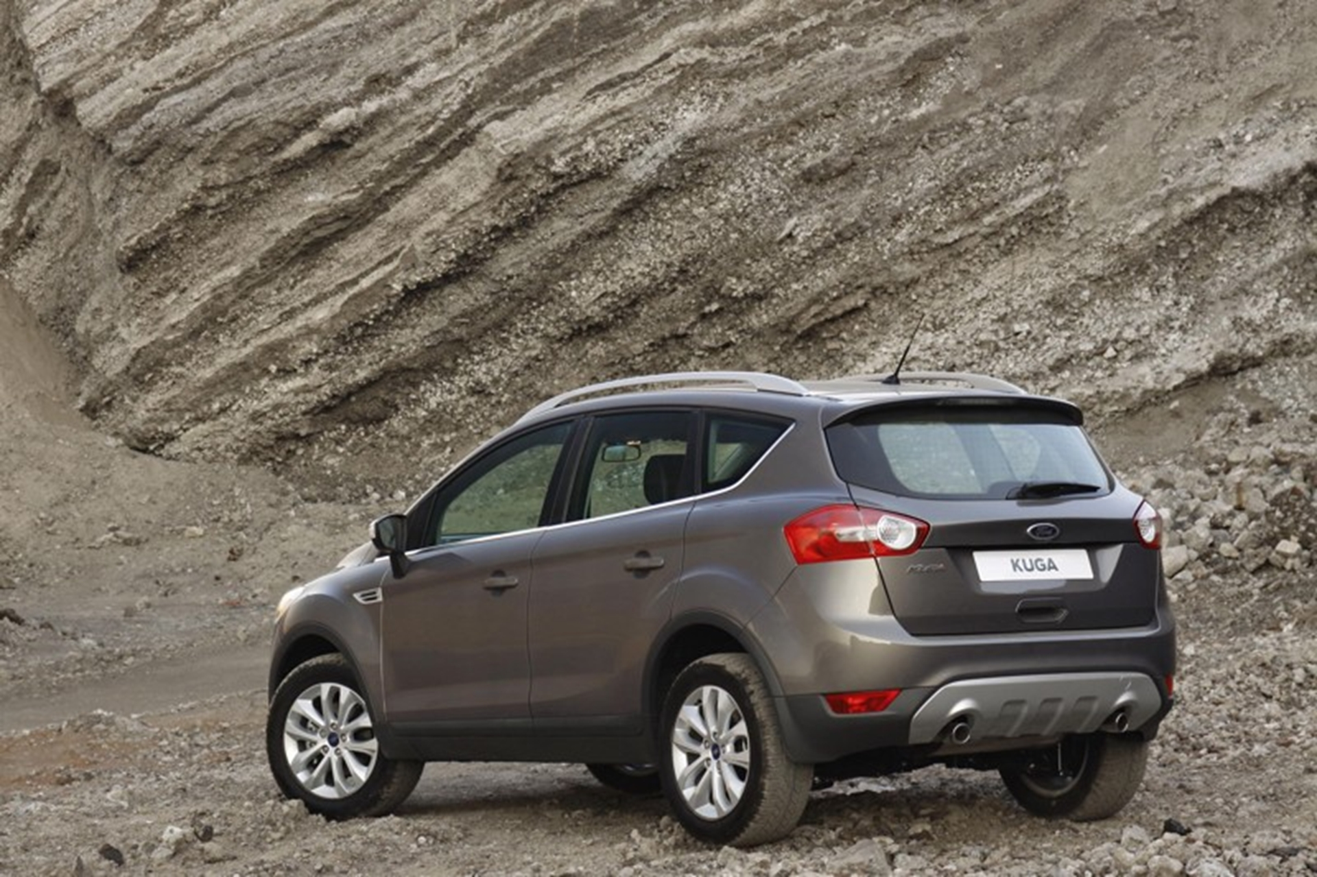 New Ford Kuga Rear