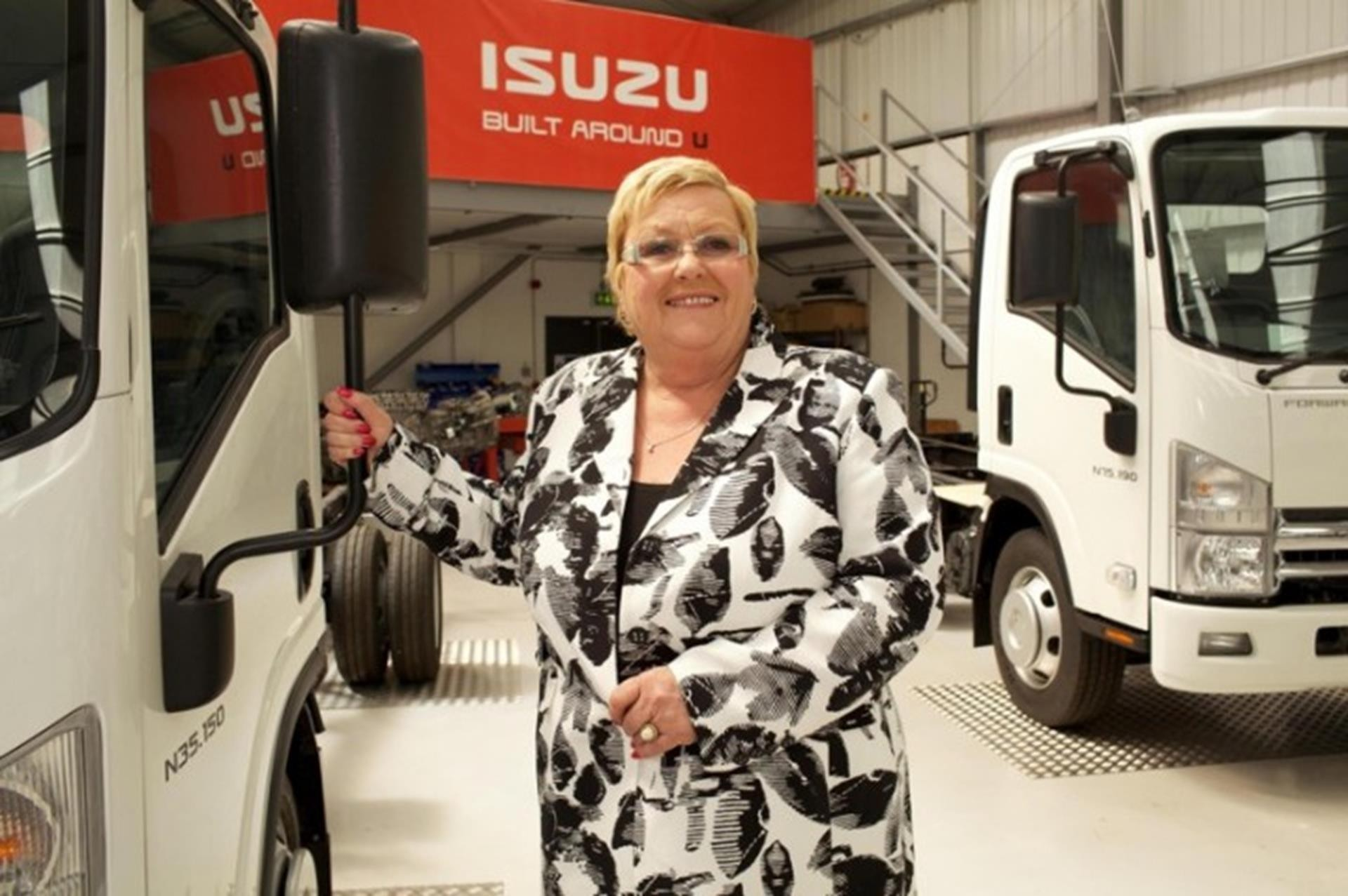 Nikki King OBE, the CEO of Isuzu Truck Ltd