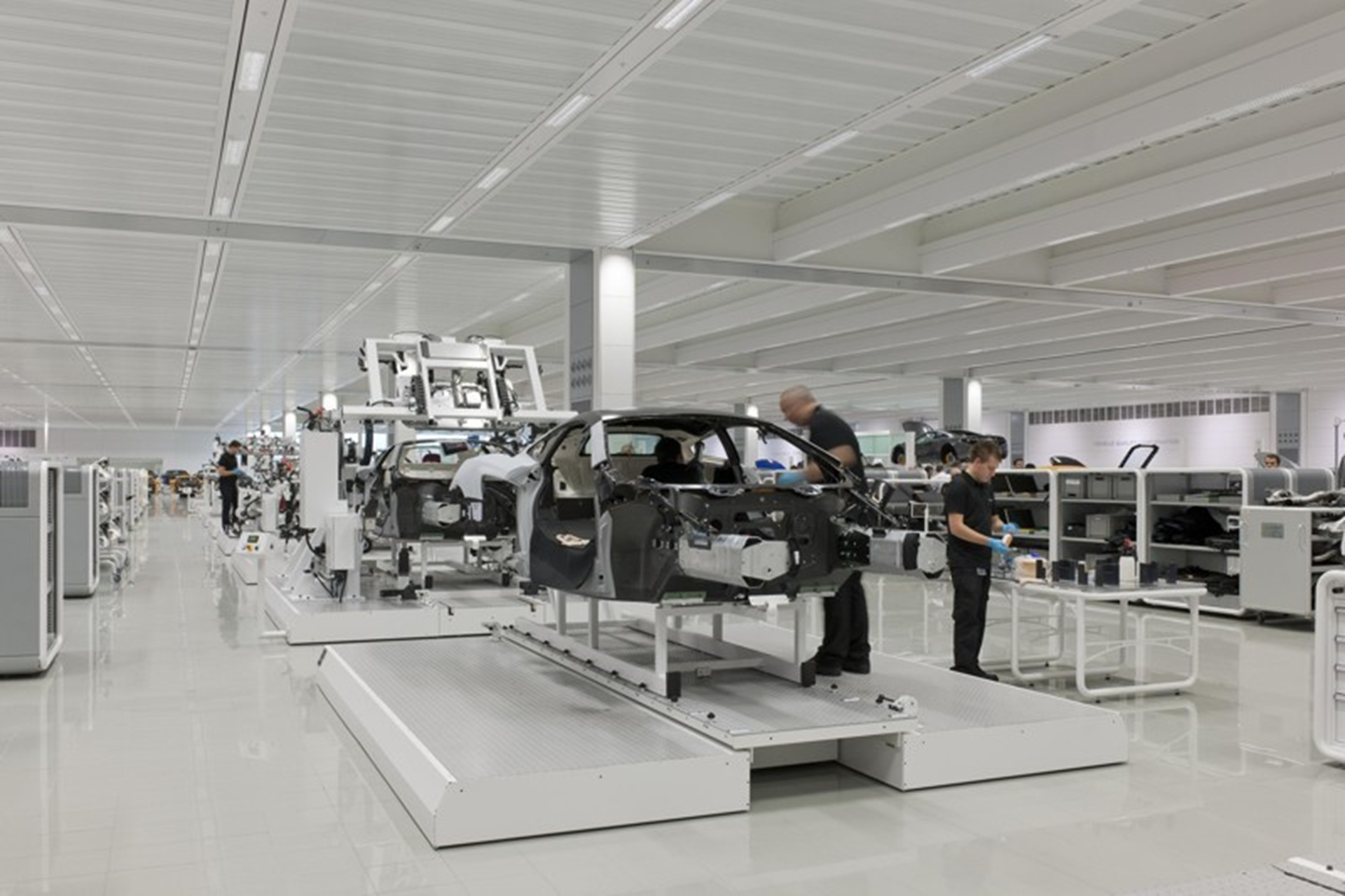 The McLaren Production Centre 2011