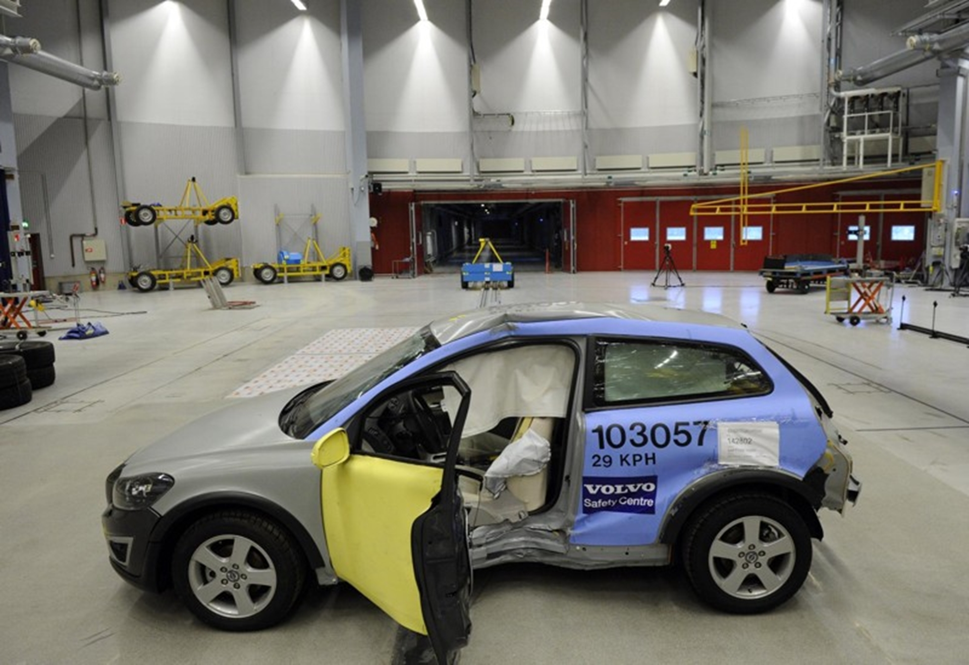 Volvo Electric Car Safety