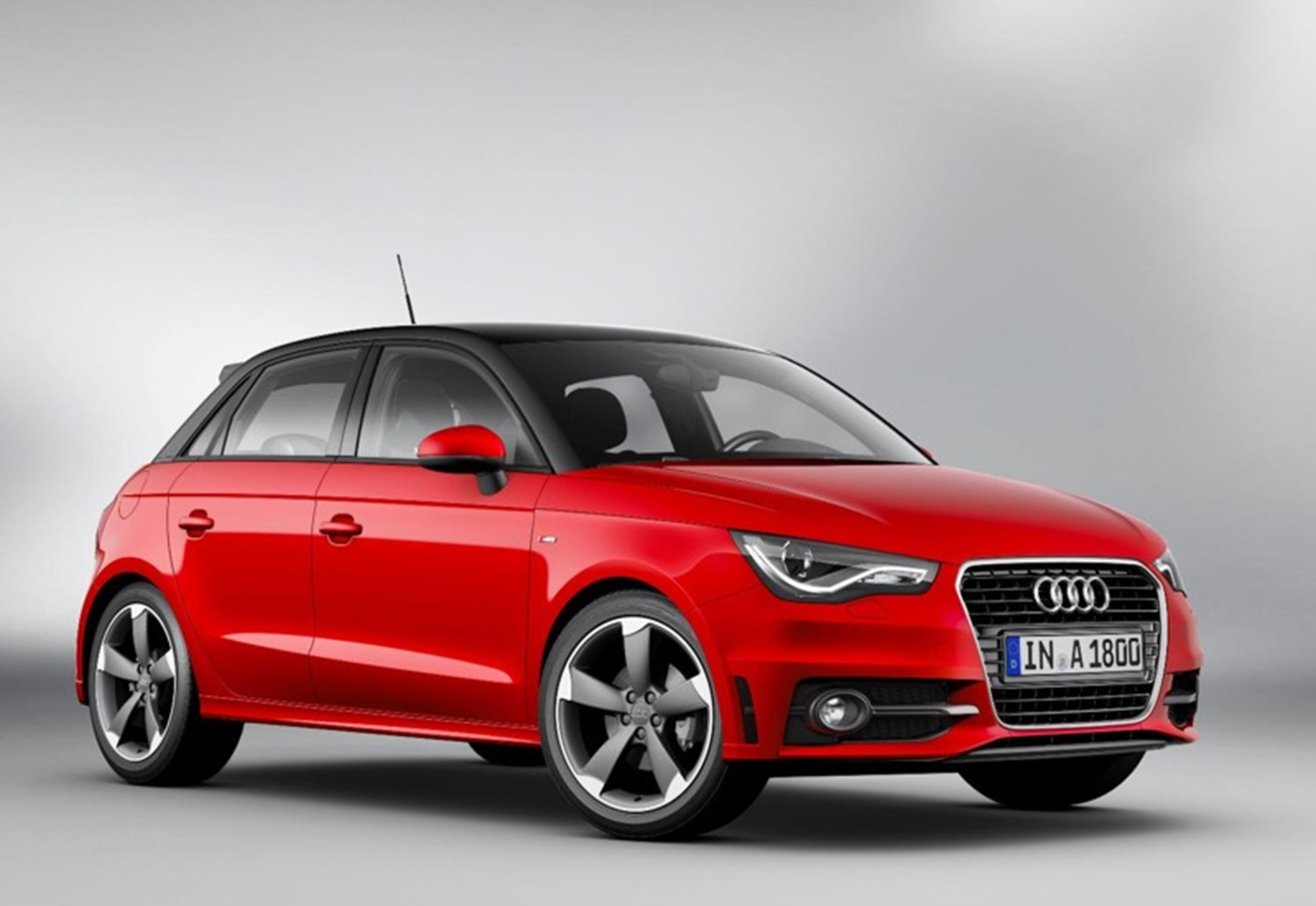 New Audi A1 SportBack 2012 Front View