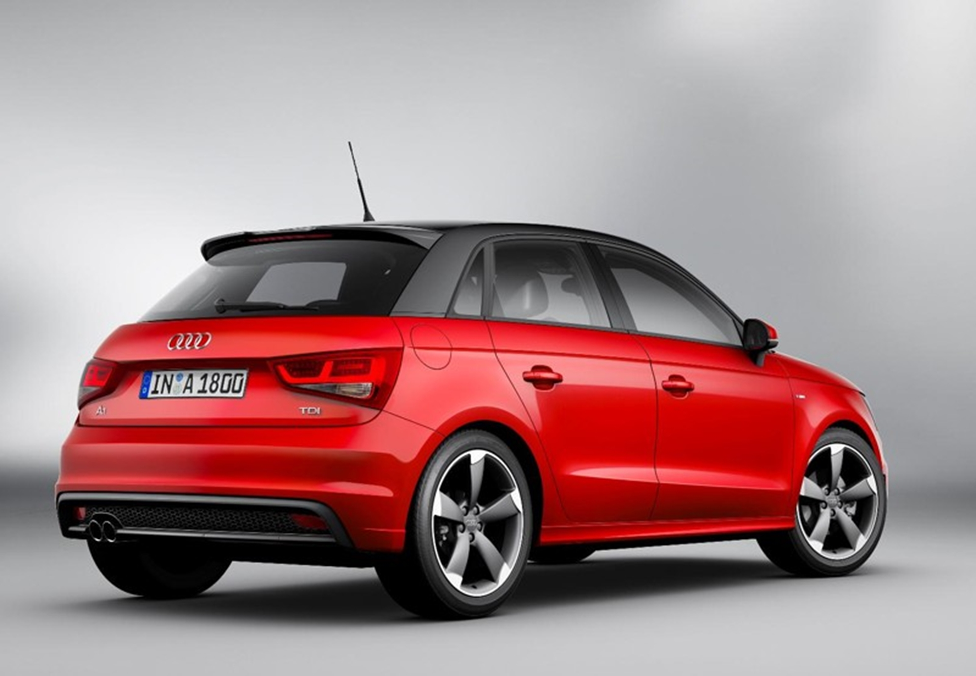 New Audi A1 SportBack 2012 Rear View