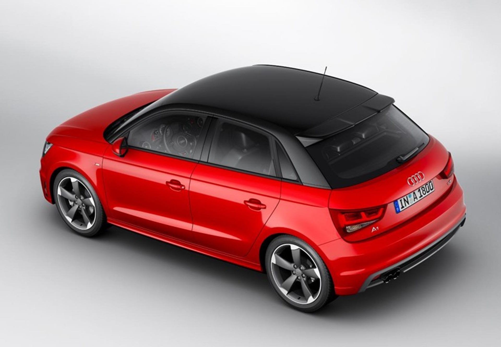 New Audi A1 SportBack Top View