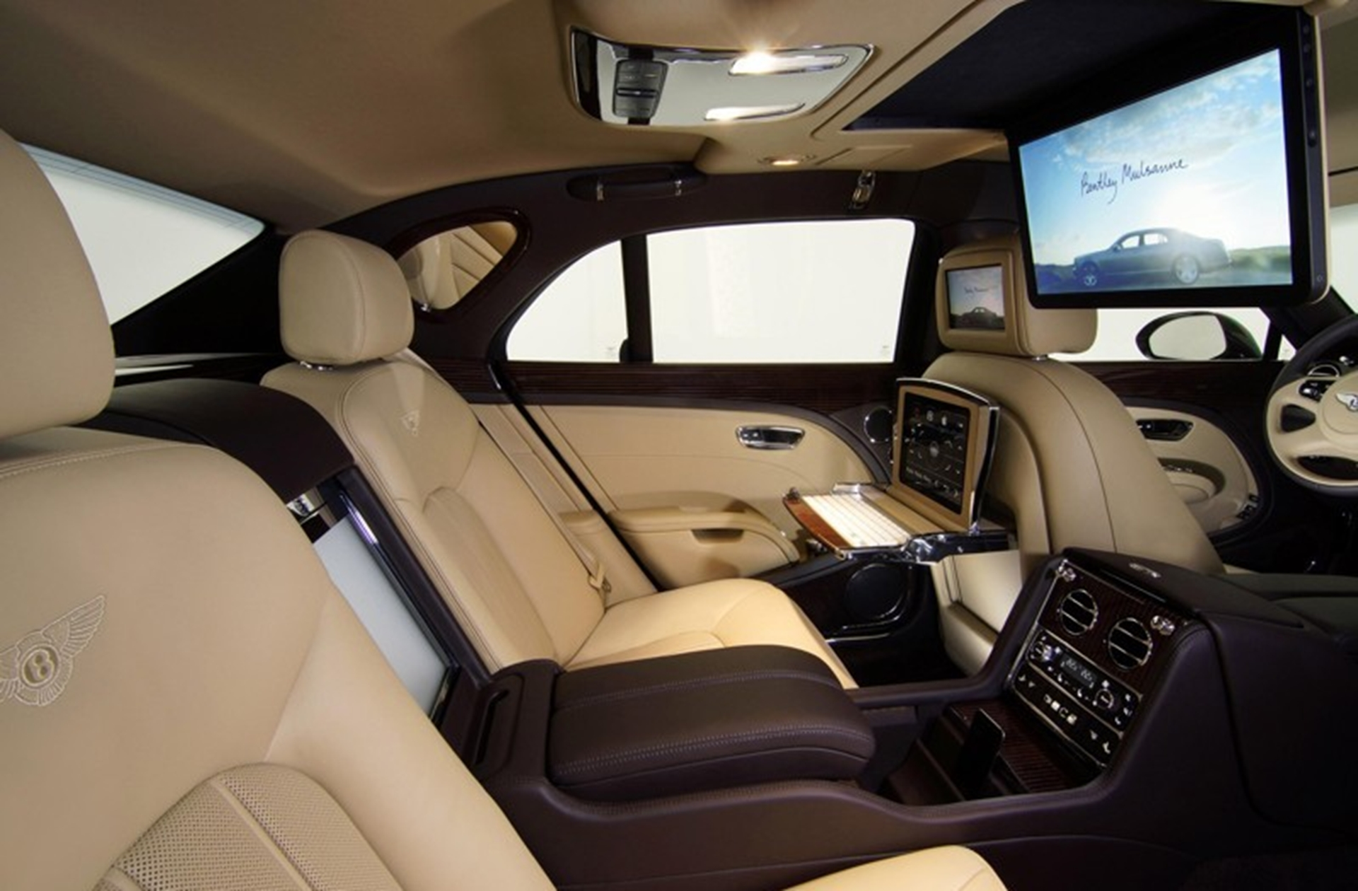bentley inside