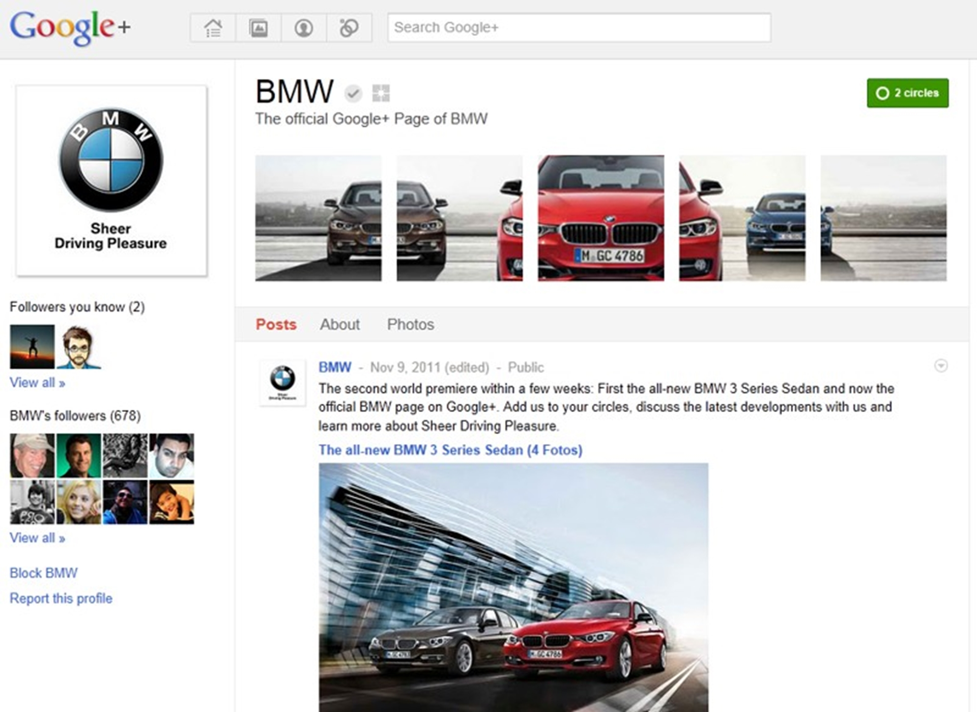 bmw-on-google-plus
