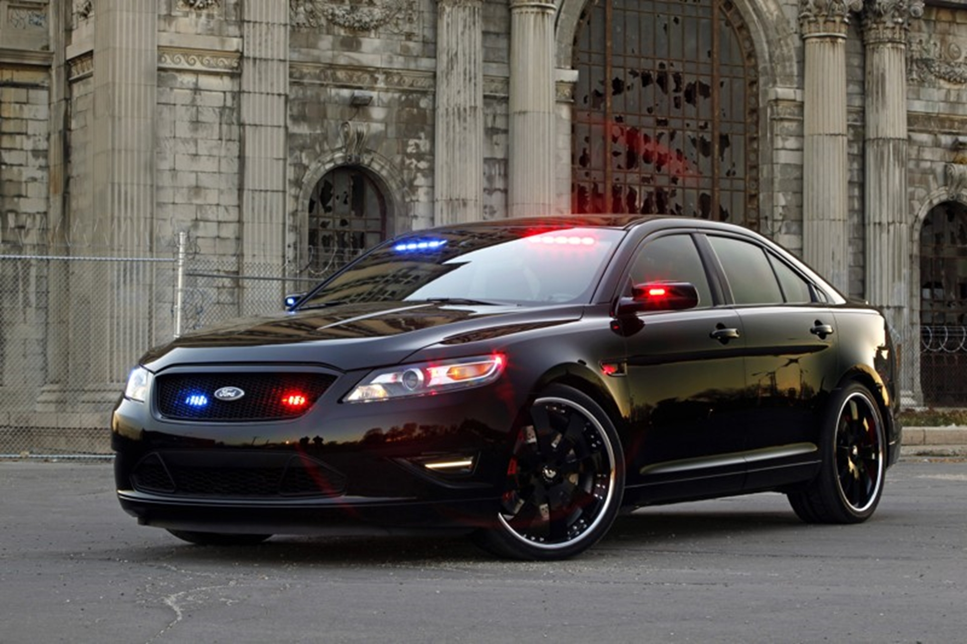 Ford Interceptor Police car