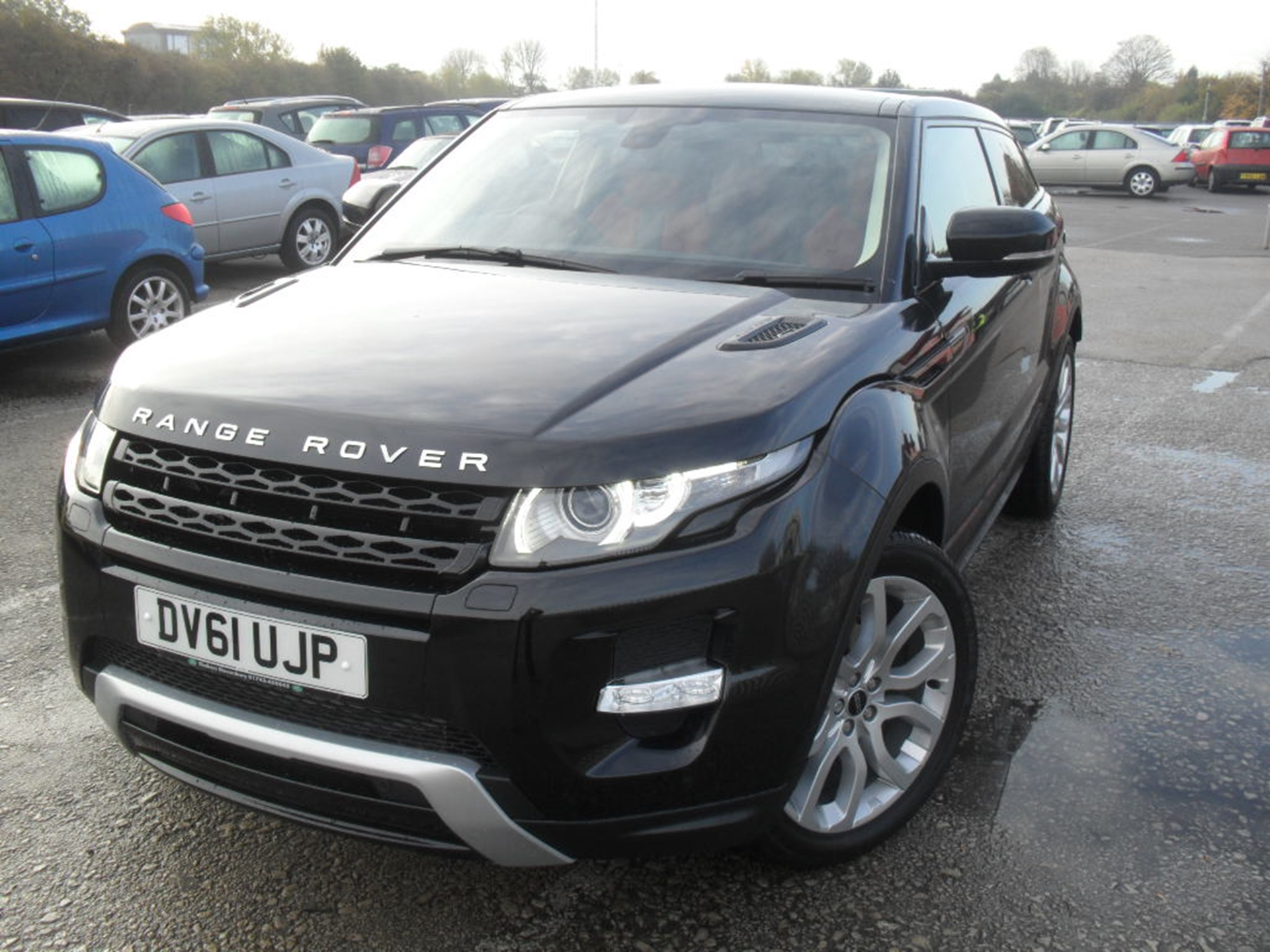 FIRST EVOQUE TO BE SOLD AT AUCTION