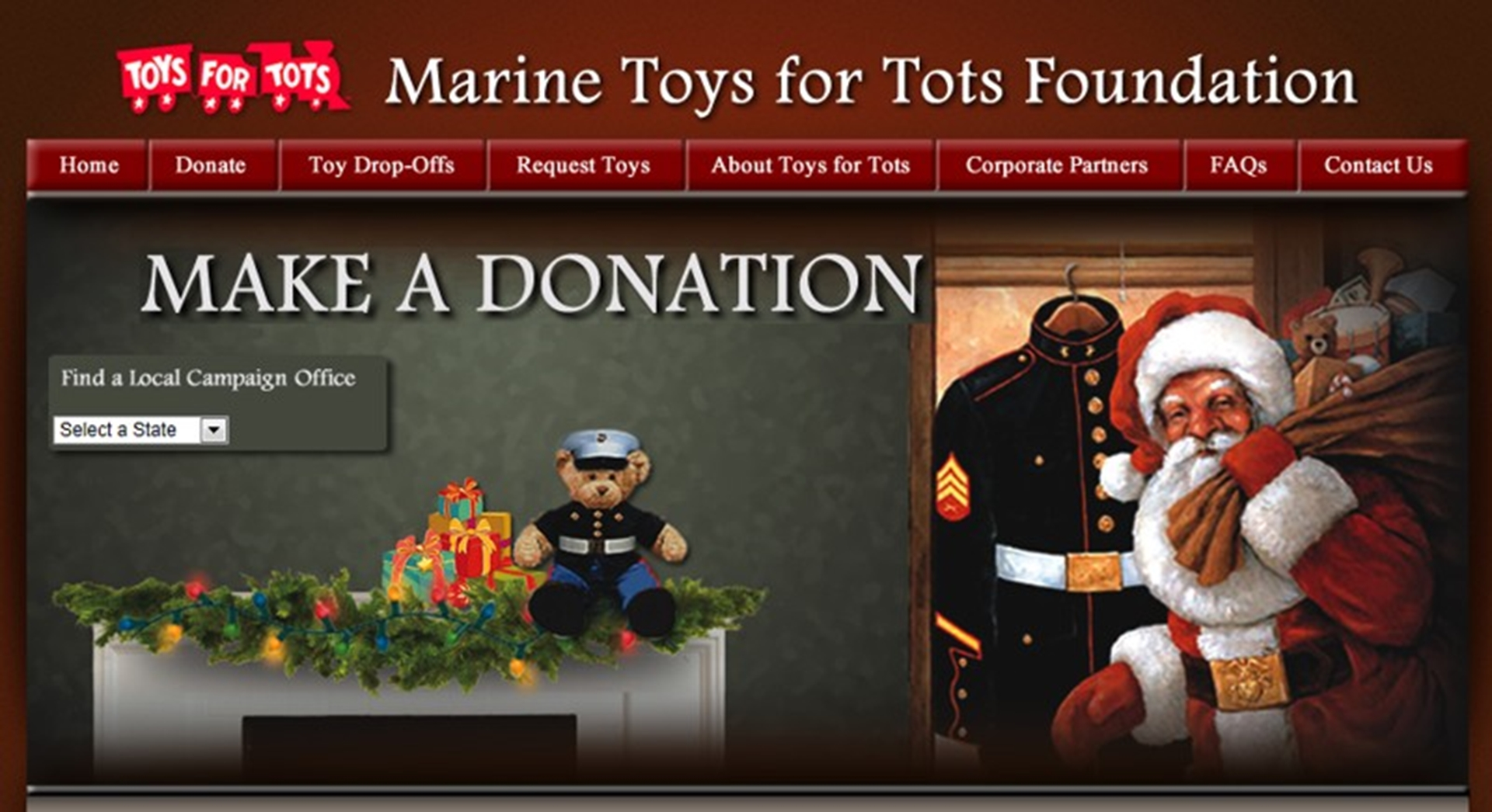 Toys For Tots Foundation Address : Chrysler mid atlantic business center and its dealers