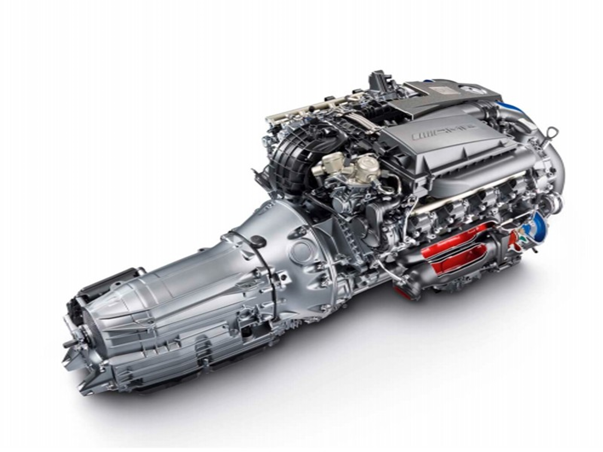 Mercedes Benz C63 Engine 2011