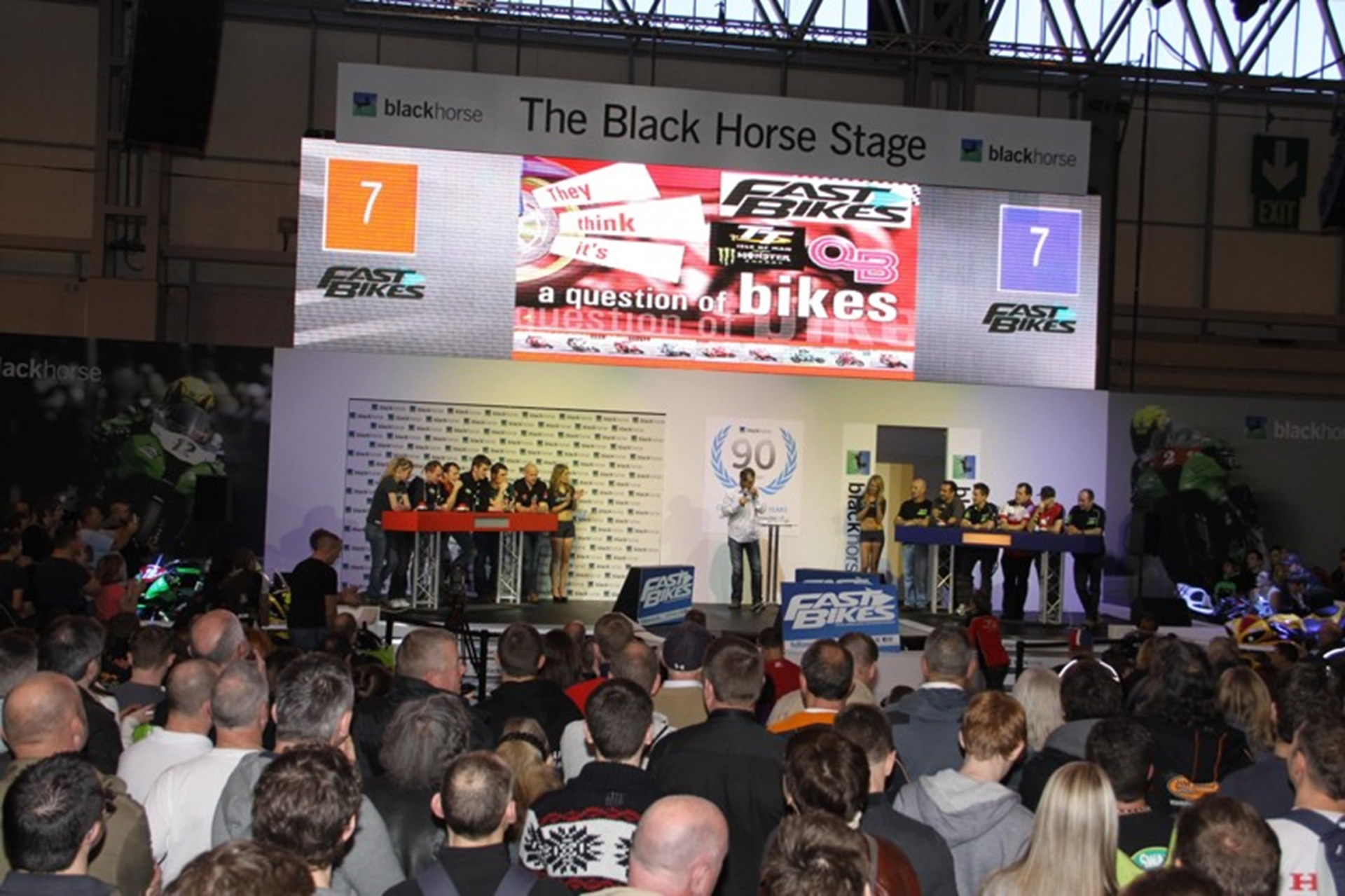 motorcycle live show