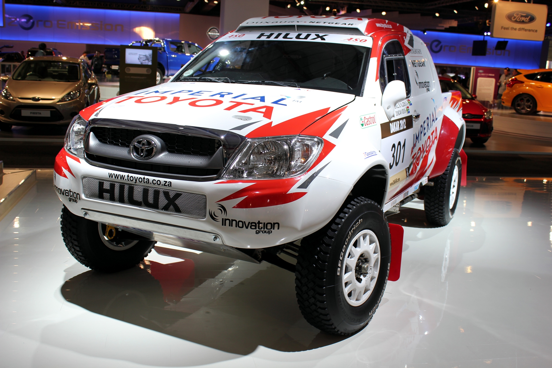 The Imperial Toyota South Africa Team to contest the 2012 Dakar Rally