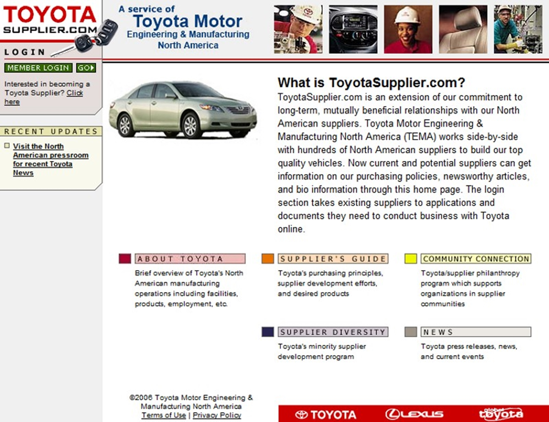 Toyota Motor Suppliers