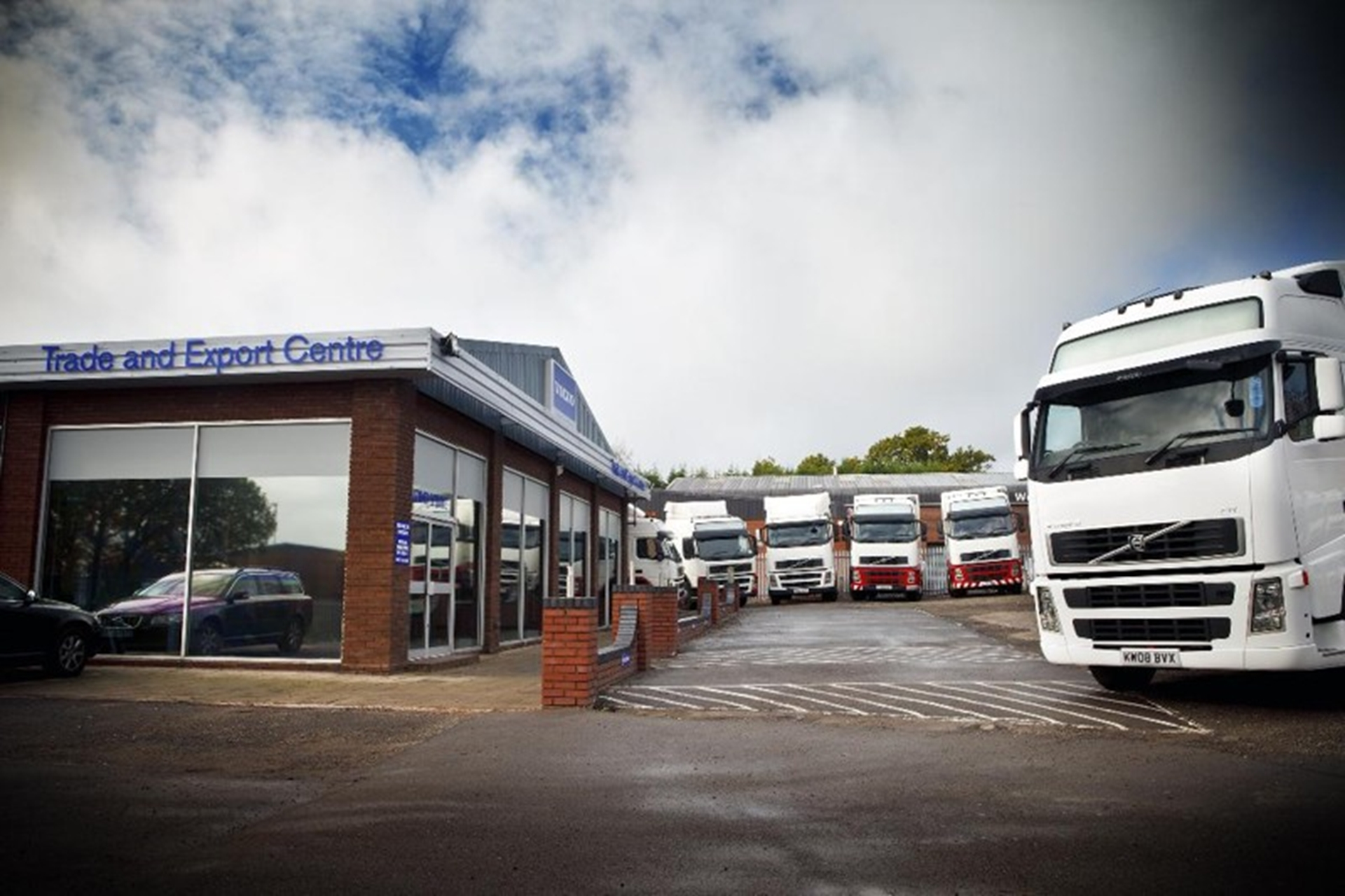 Volvo Trucks New Shop