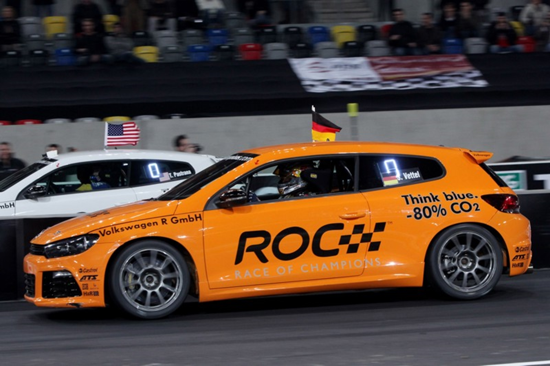 Volkswagen at Race of Champions 2011