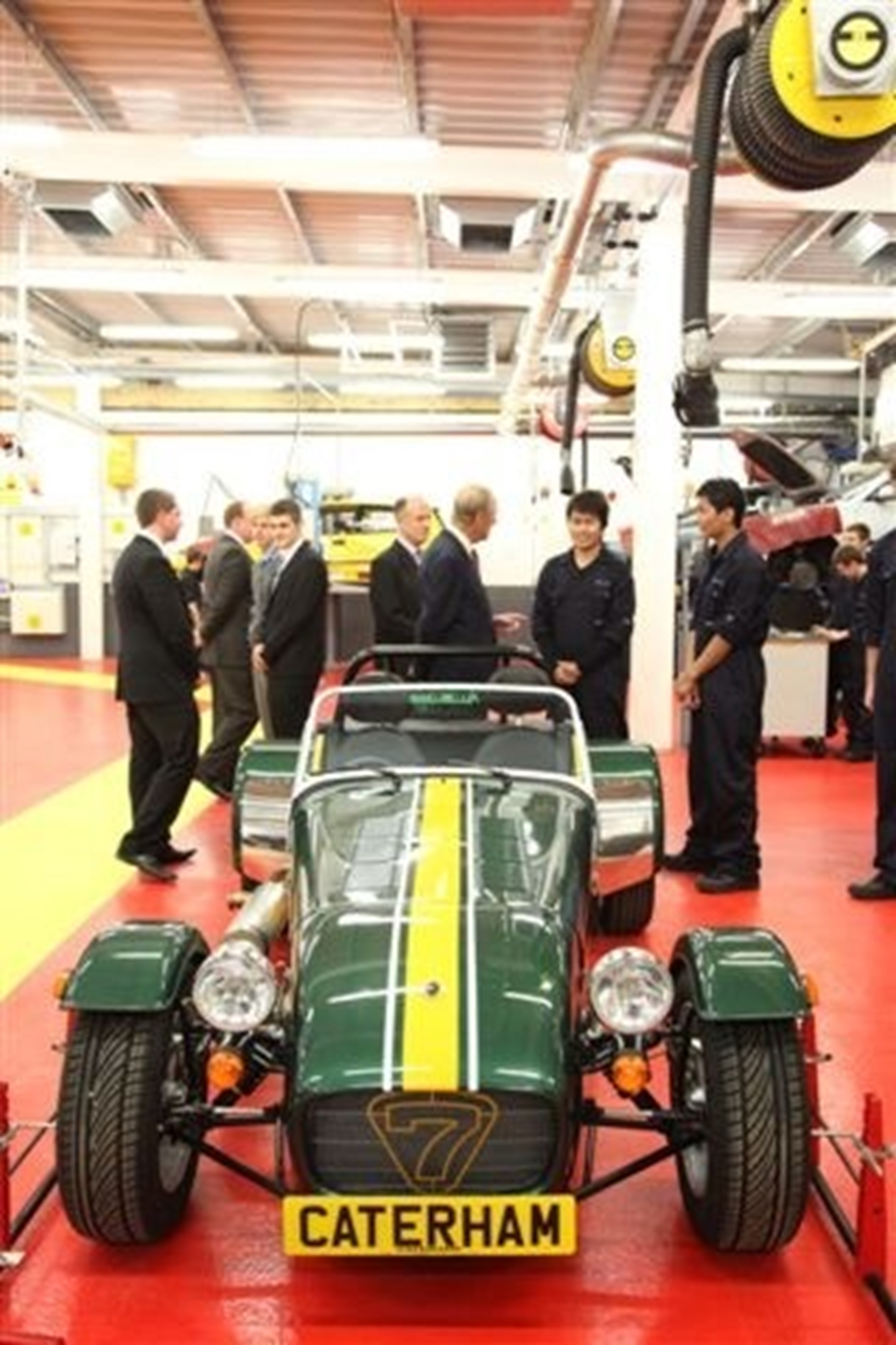 Caterham Seven gets the Royal approval
