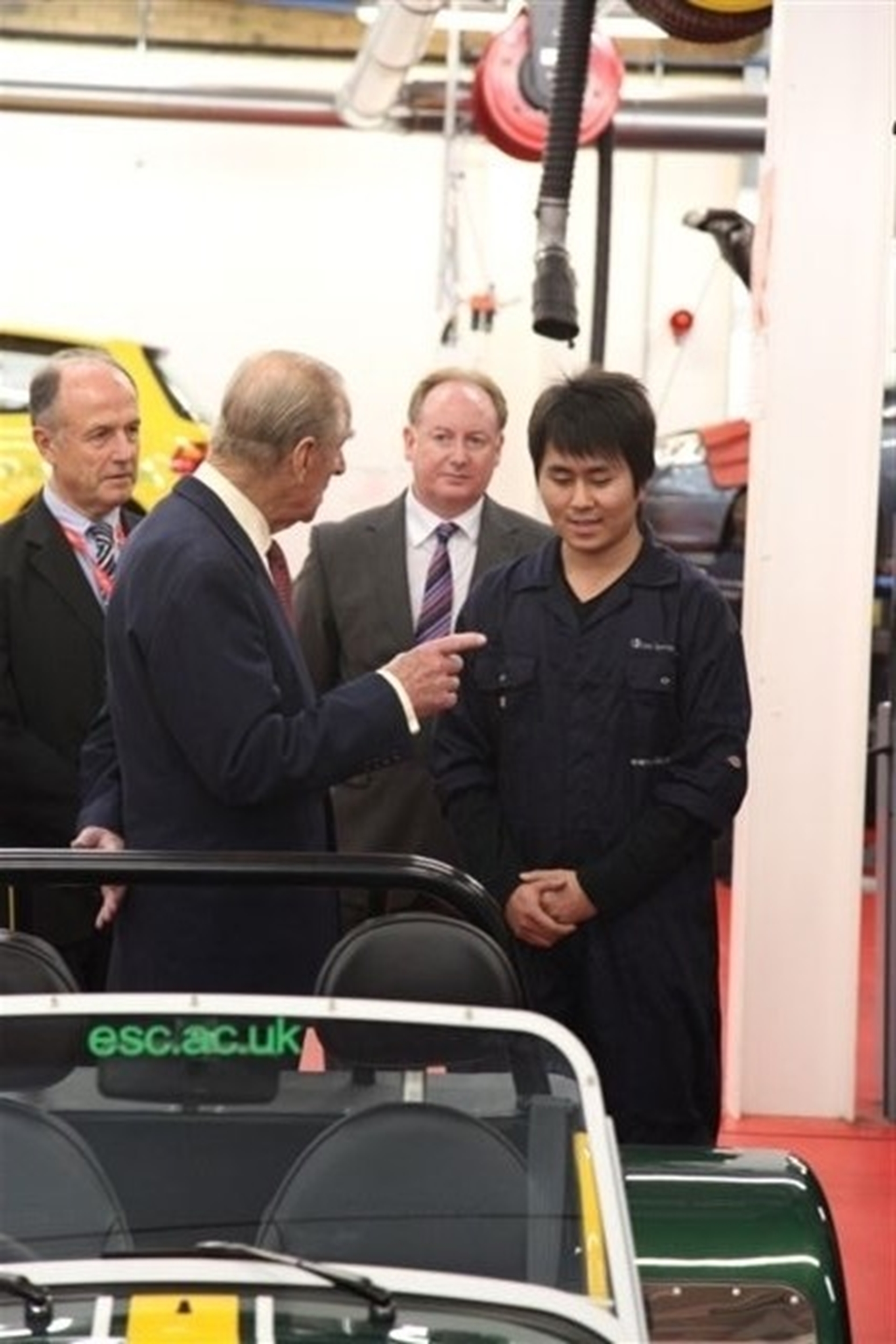 Caterham Seven gets the Royal approval 2011