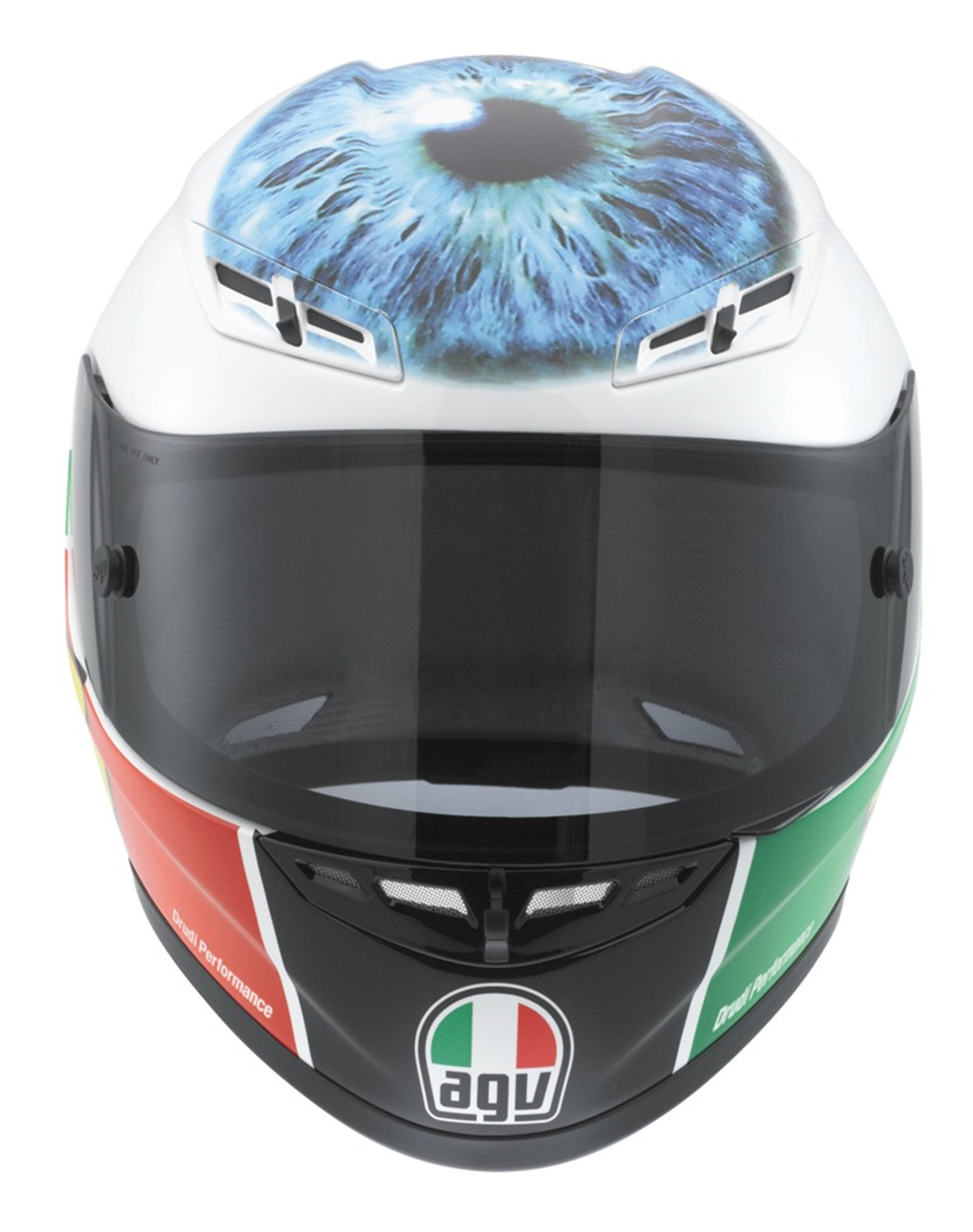 Limited-edition Rossi 'eye helmet' replica 2011