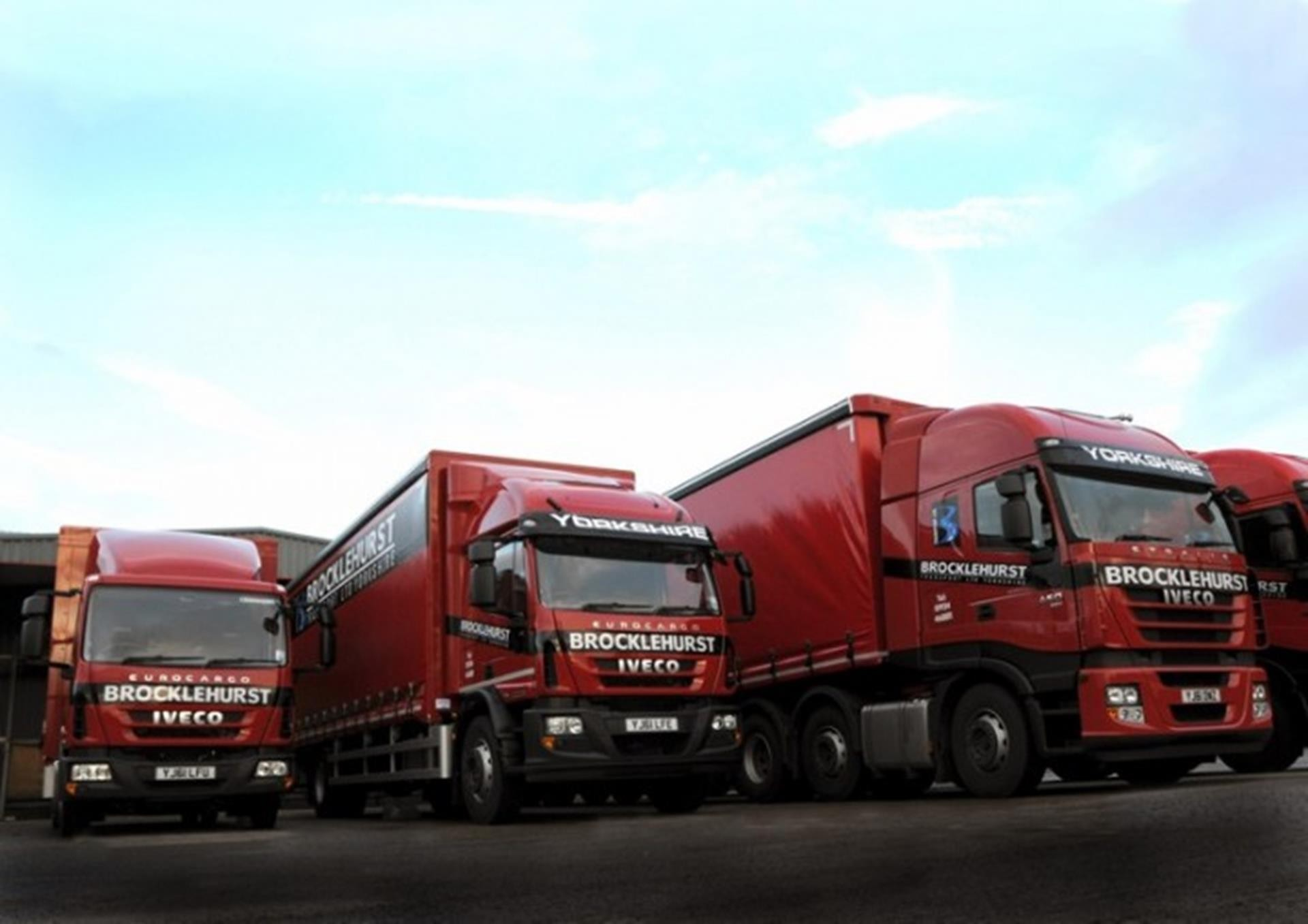 Iveco EEV trio enters operation with Brocklehurst Transport