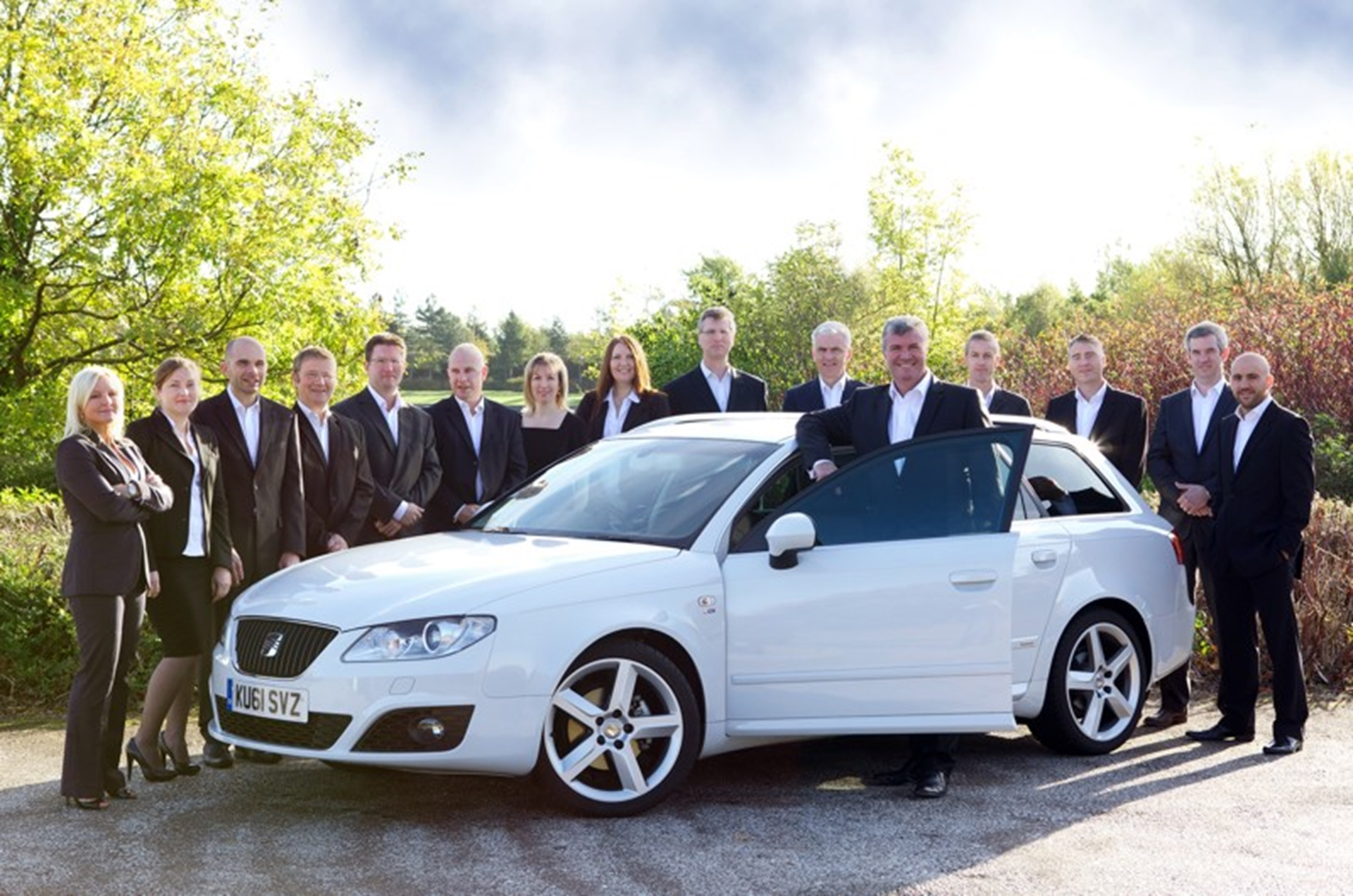 The SEAT UK Fleet & Business Sales Team