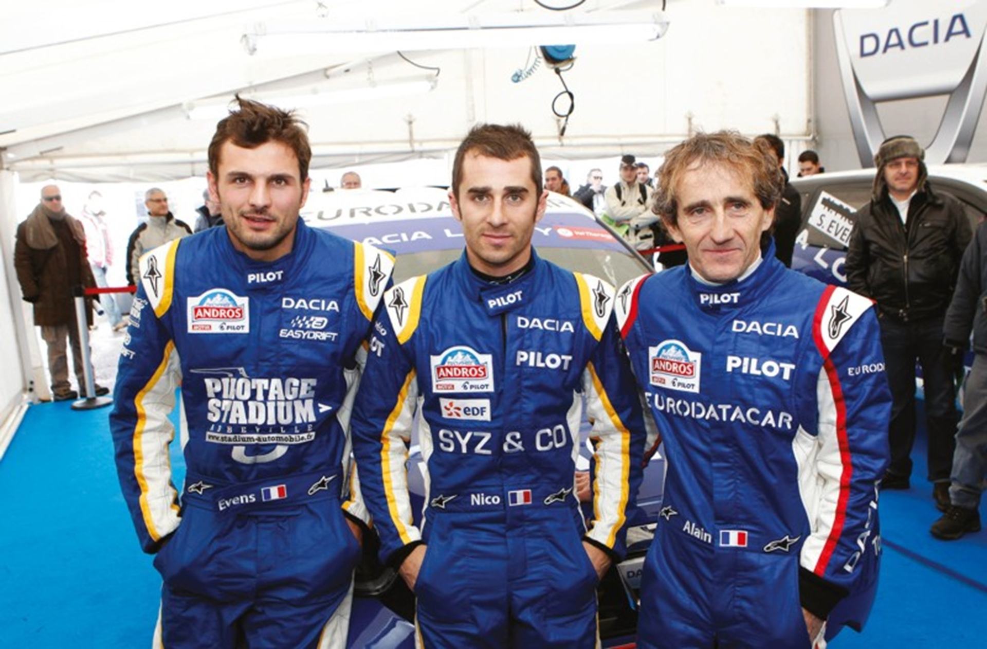Podium success for Dacia Lodgy Glace