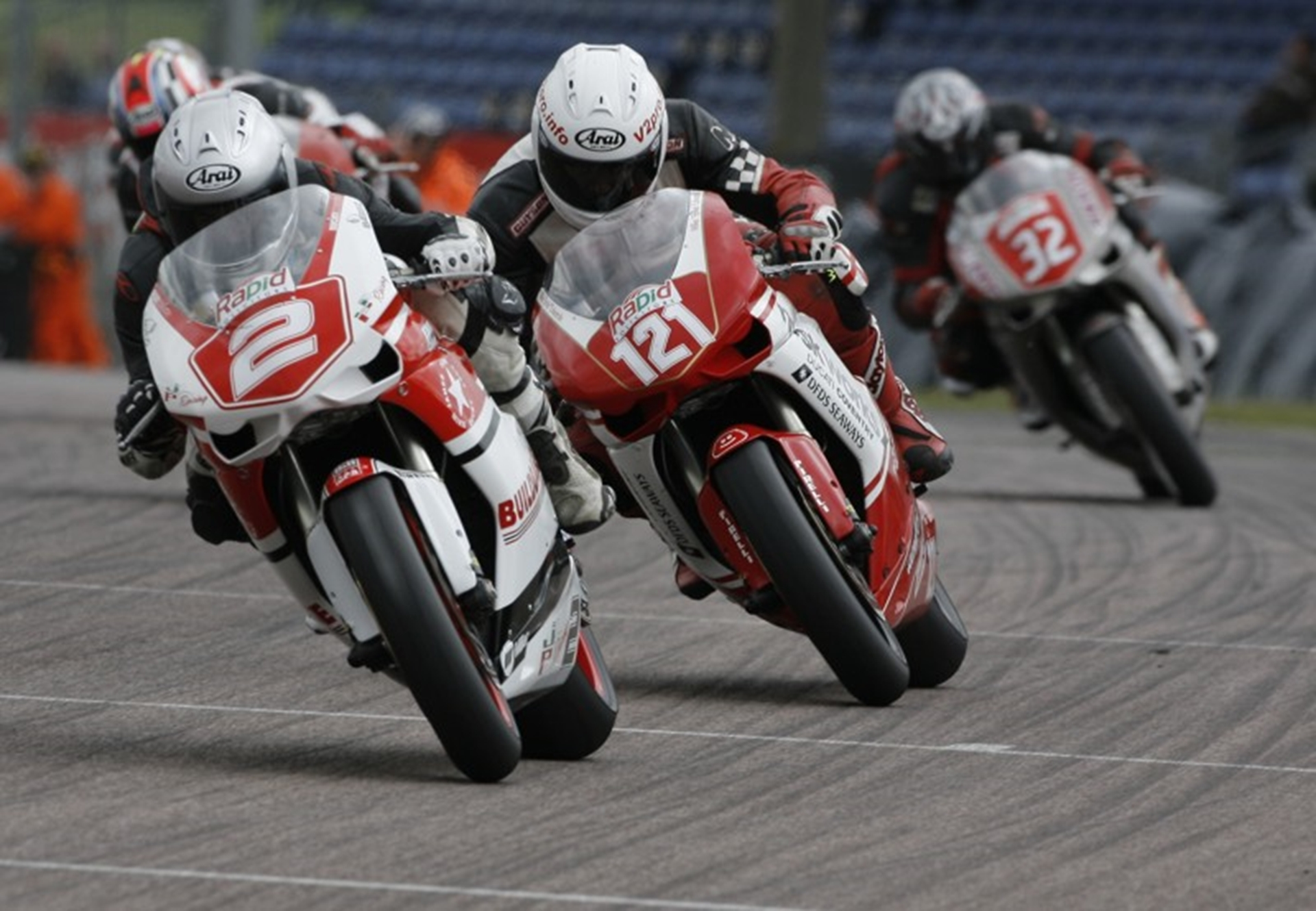 The 848 Challenge in 2011 was renowned for its close racing