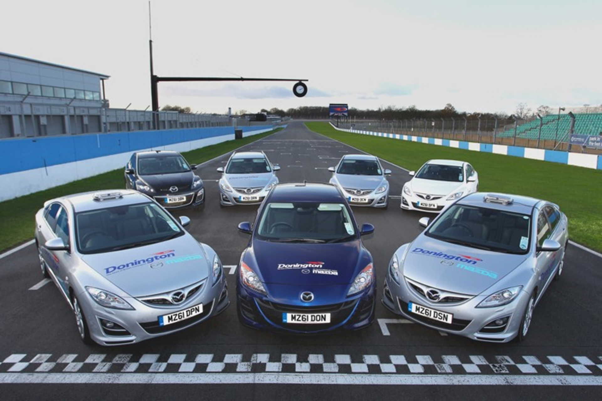 Mazda teams up with Donington Park