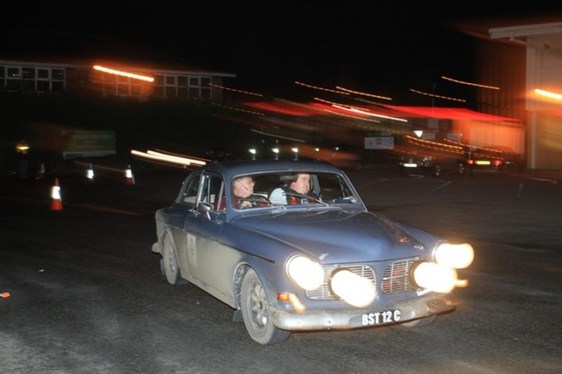 First overall, car 20 – a 1965 Volvo 131 Amazon